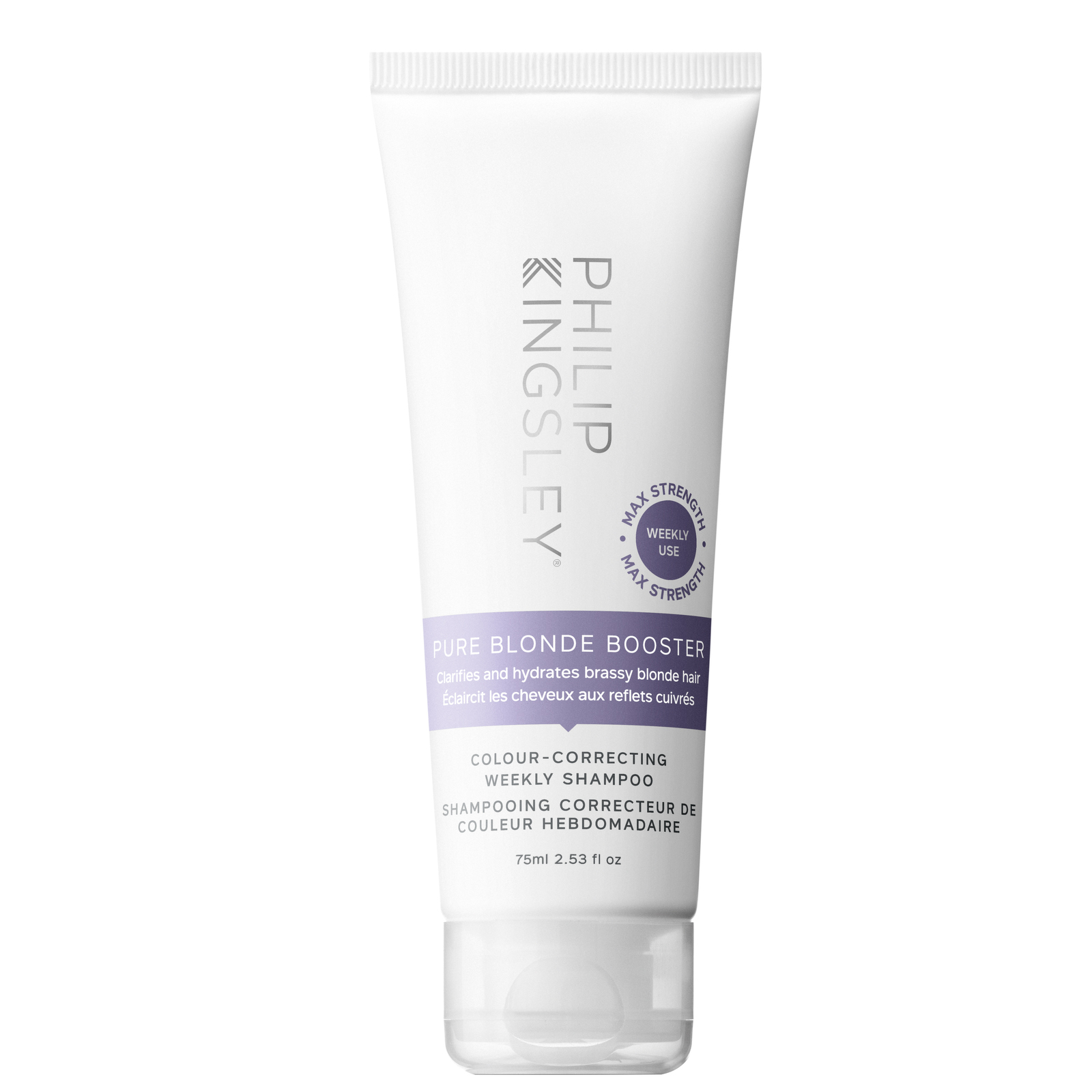 Philip Kingsley Shampoo Pure Blonde Booster Colour-Correcting Weekly Shampoo 75ml