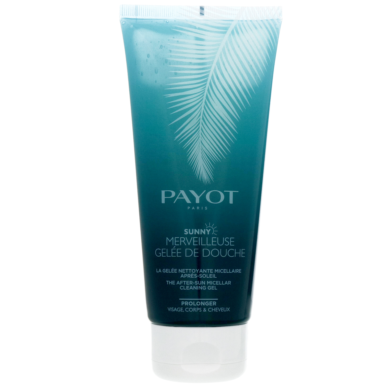 Payot Paris Sunny Merveilleuse Gelee De Douche: After-sun Micellar Cleaning Gel 200ml