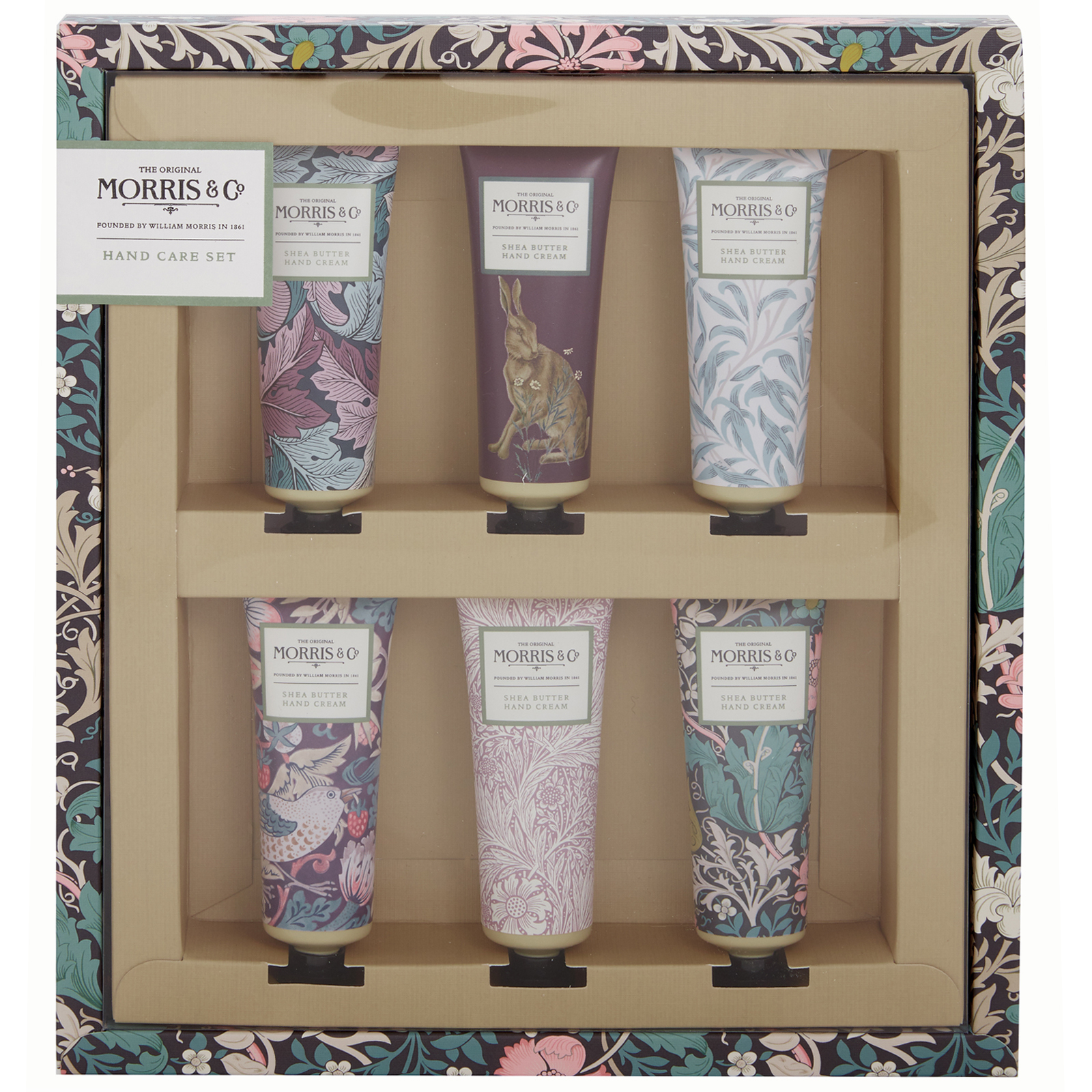 MORRIS & Co Pink Clay & Honeysuckle Hand Care Set