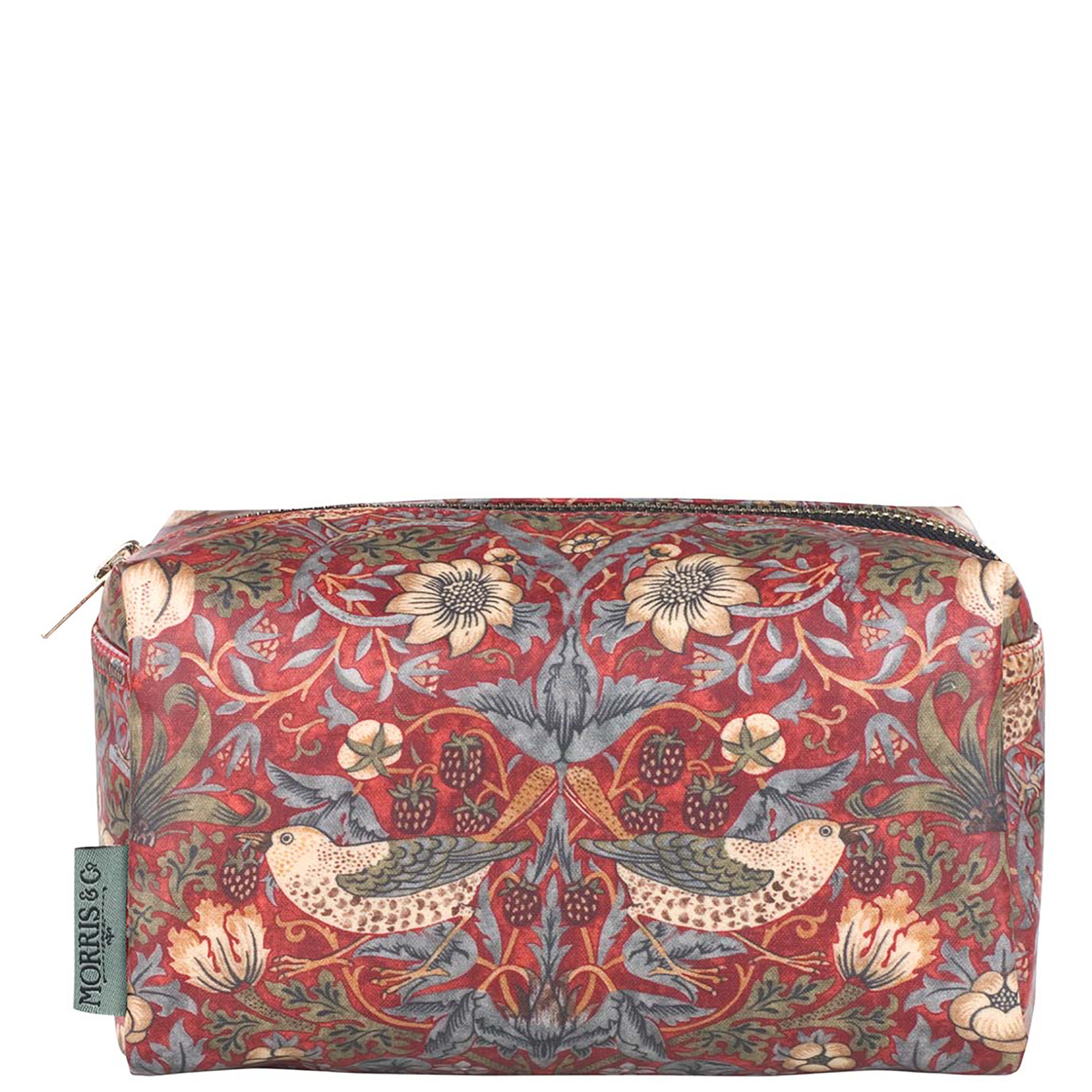 MORRIS & Co Strawberry Thief Medium Cosmetic Bag