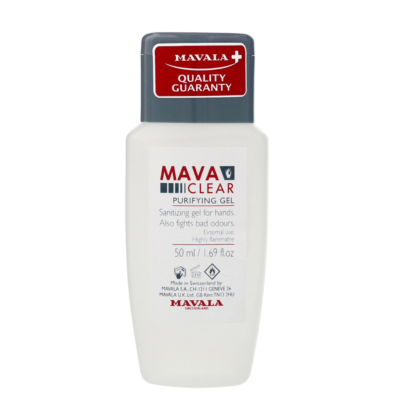 Mavala Hand Care  Mava-Clear Purifying Hand Gel 50ml