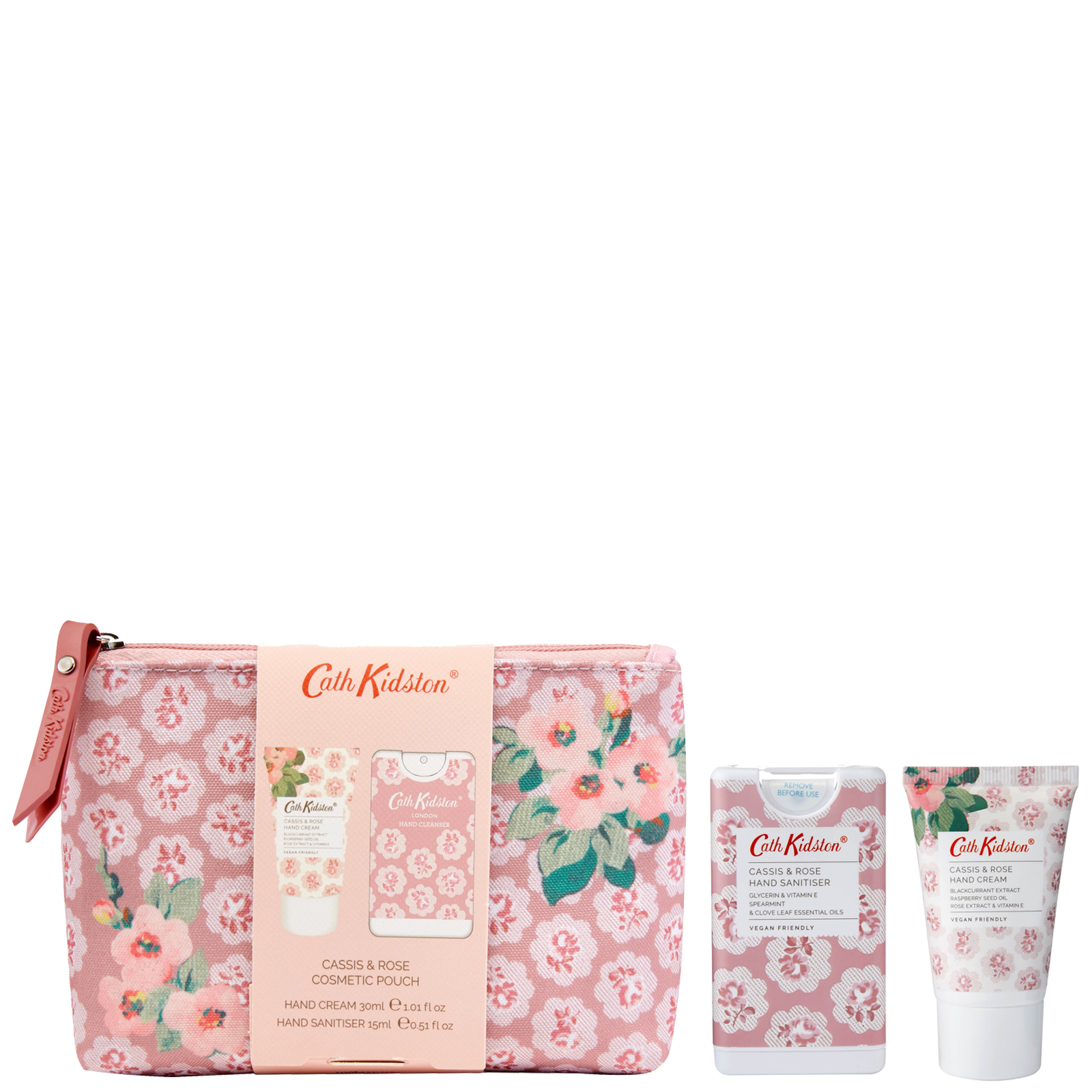 Cath Kidston Gifts & Sets Cath Kidston Cassis & Rose Cosmetic Pouch