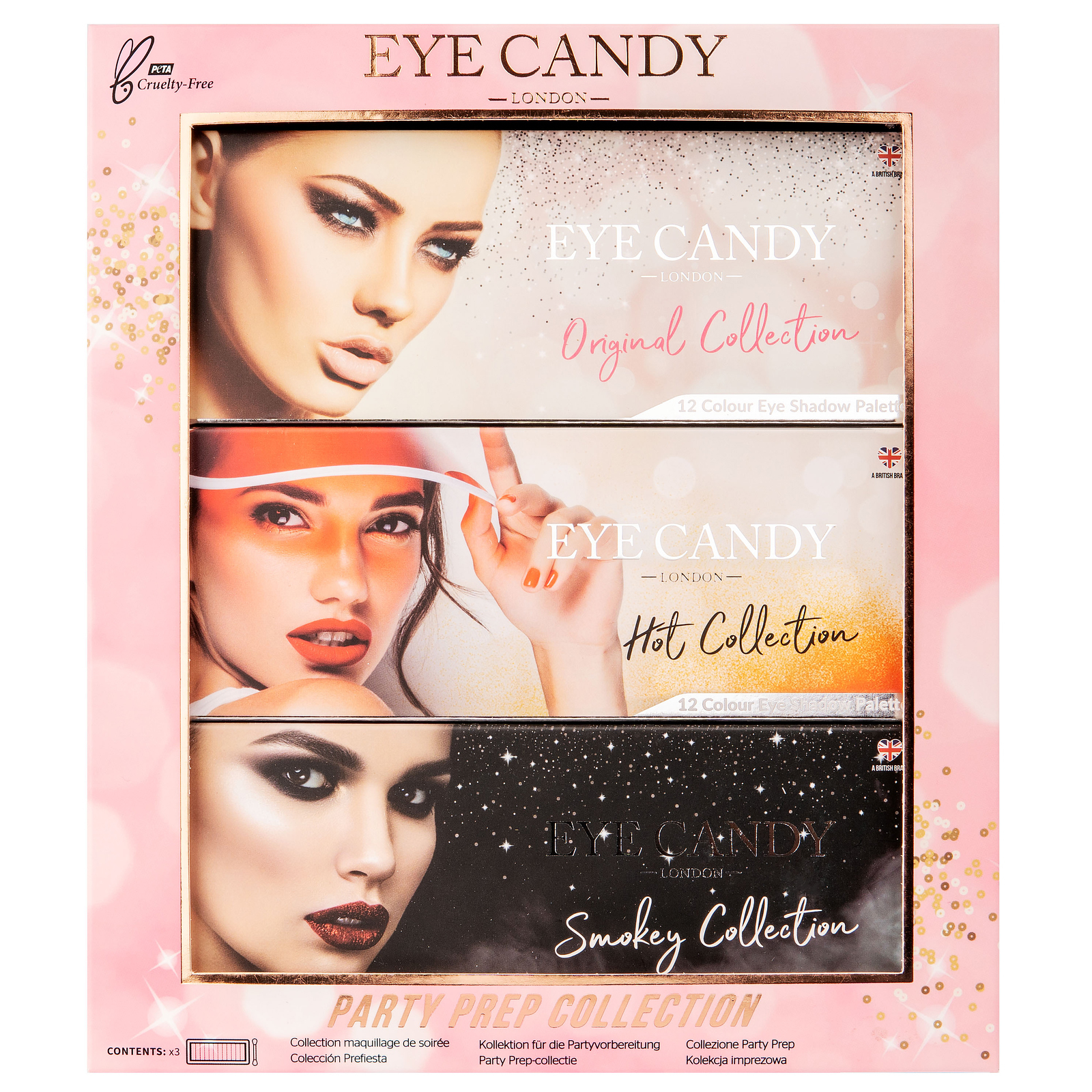 Eye Candy Pro Gift Sets Eye Candy Party Prep Collection (Worth £30)