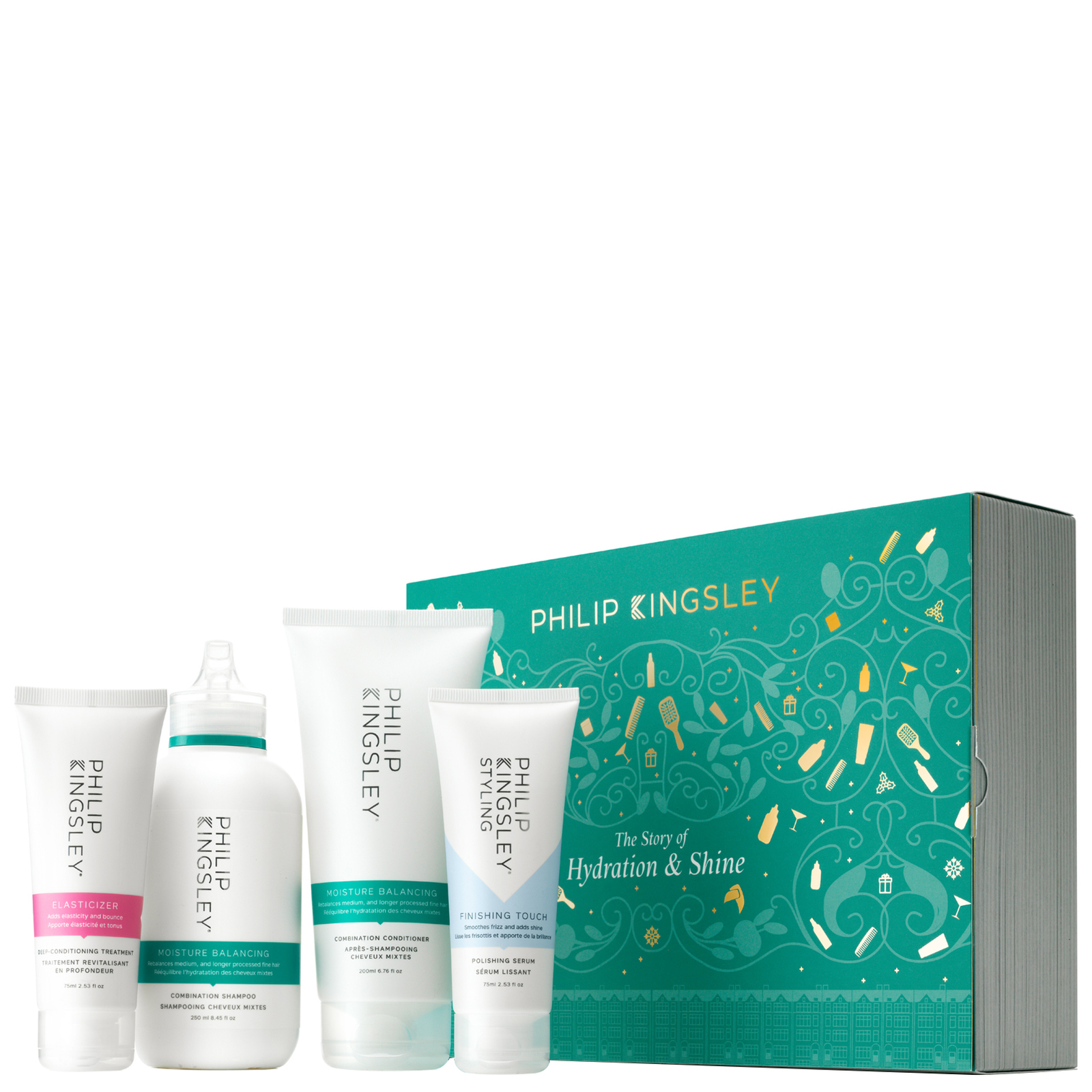 Philip Kingsley Kits A Hydration & Shine Story (Worth £81.00)
