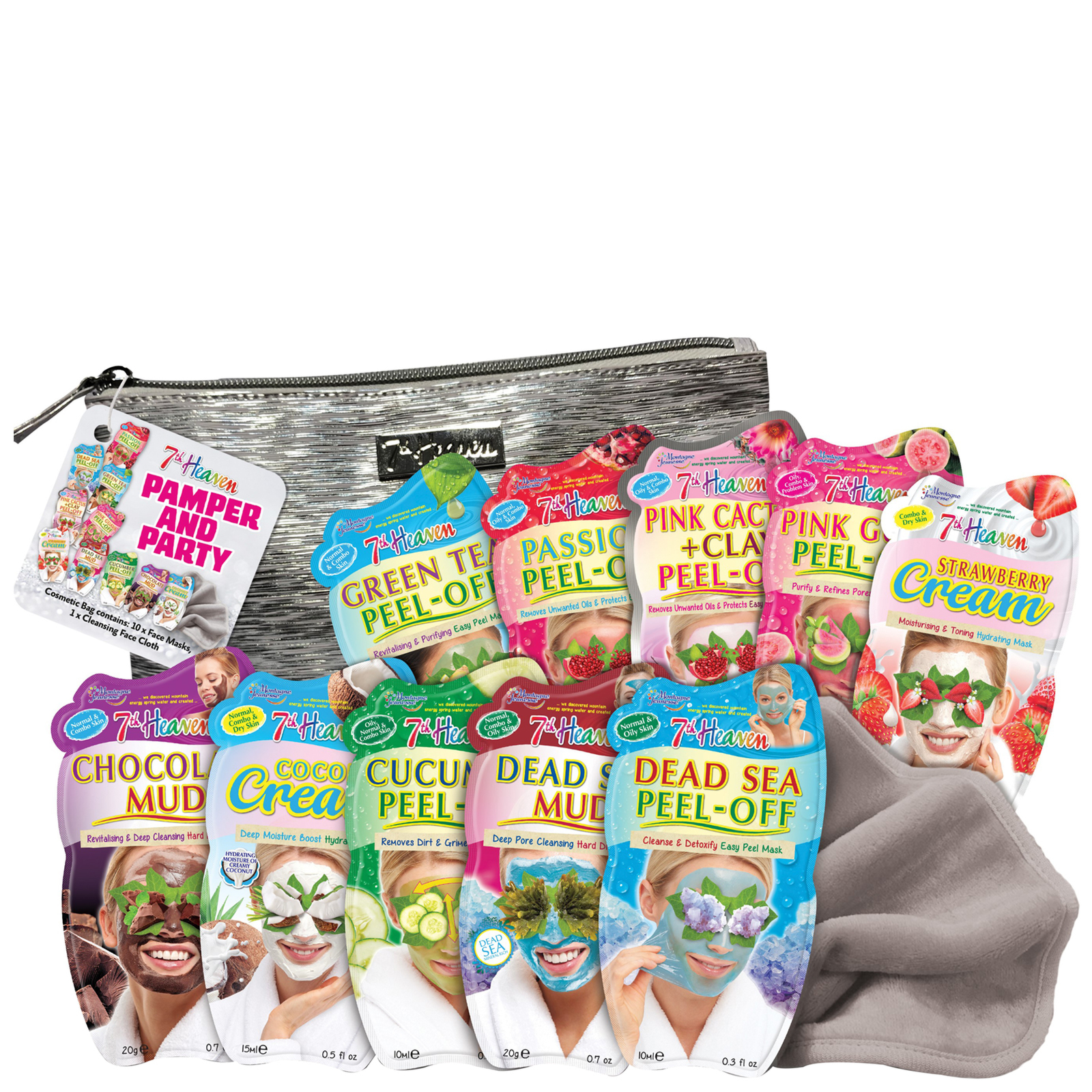 7th Heaven Gift Sets Pamper & Party Gift Set