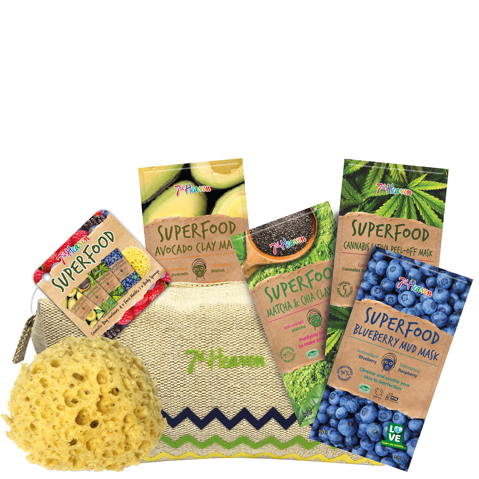 7th Heaven Gift Sets Superfood Set