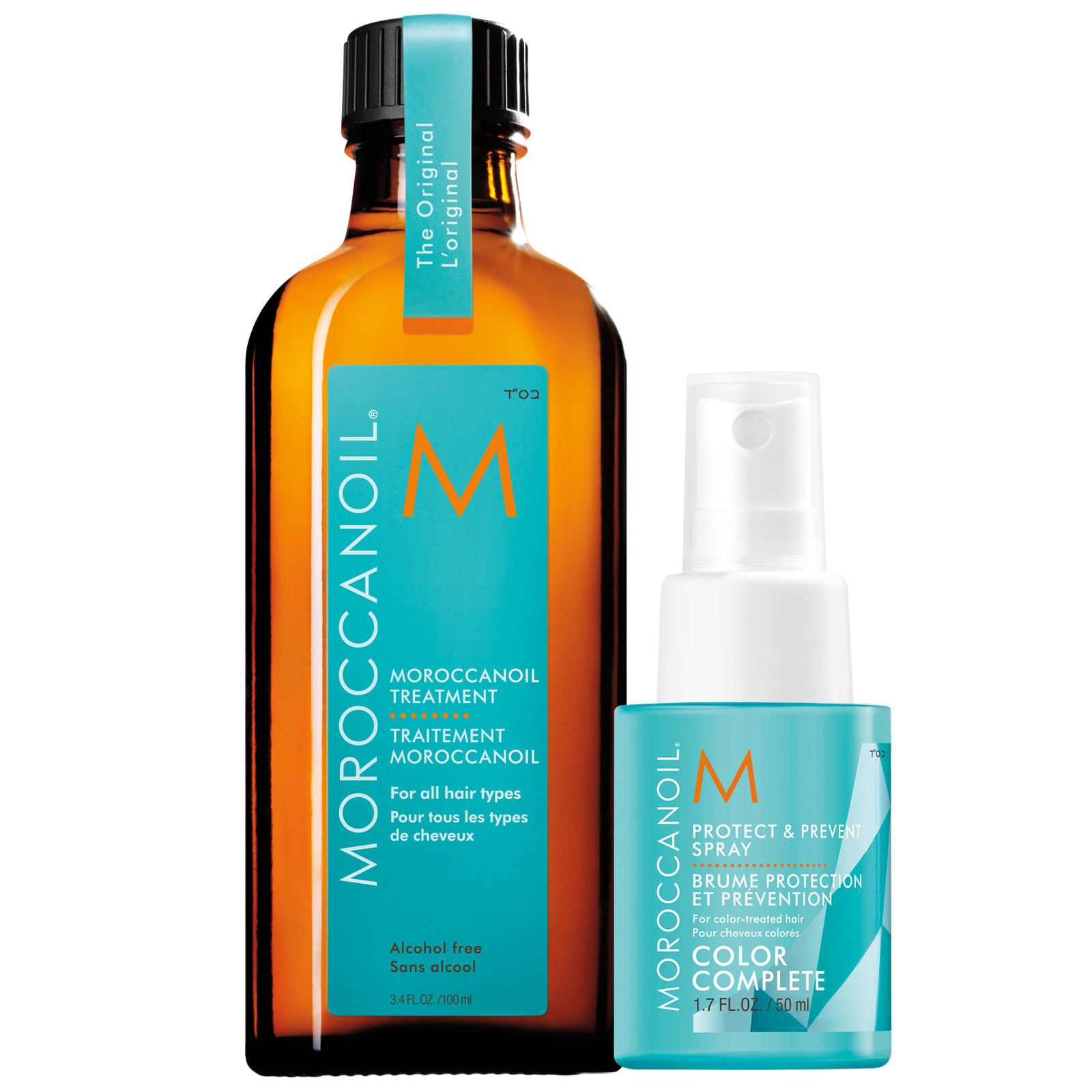 MOROCCANOIL Sets Protect & Shine Set: Treatment 100ml + Free Protect & Prevent 50ml (Worth £41.70)