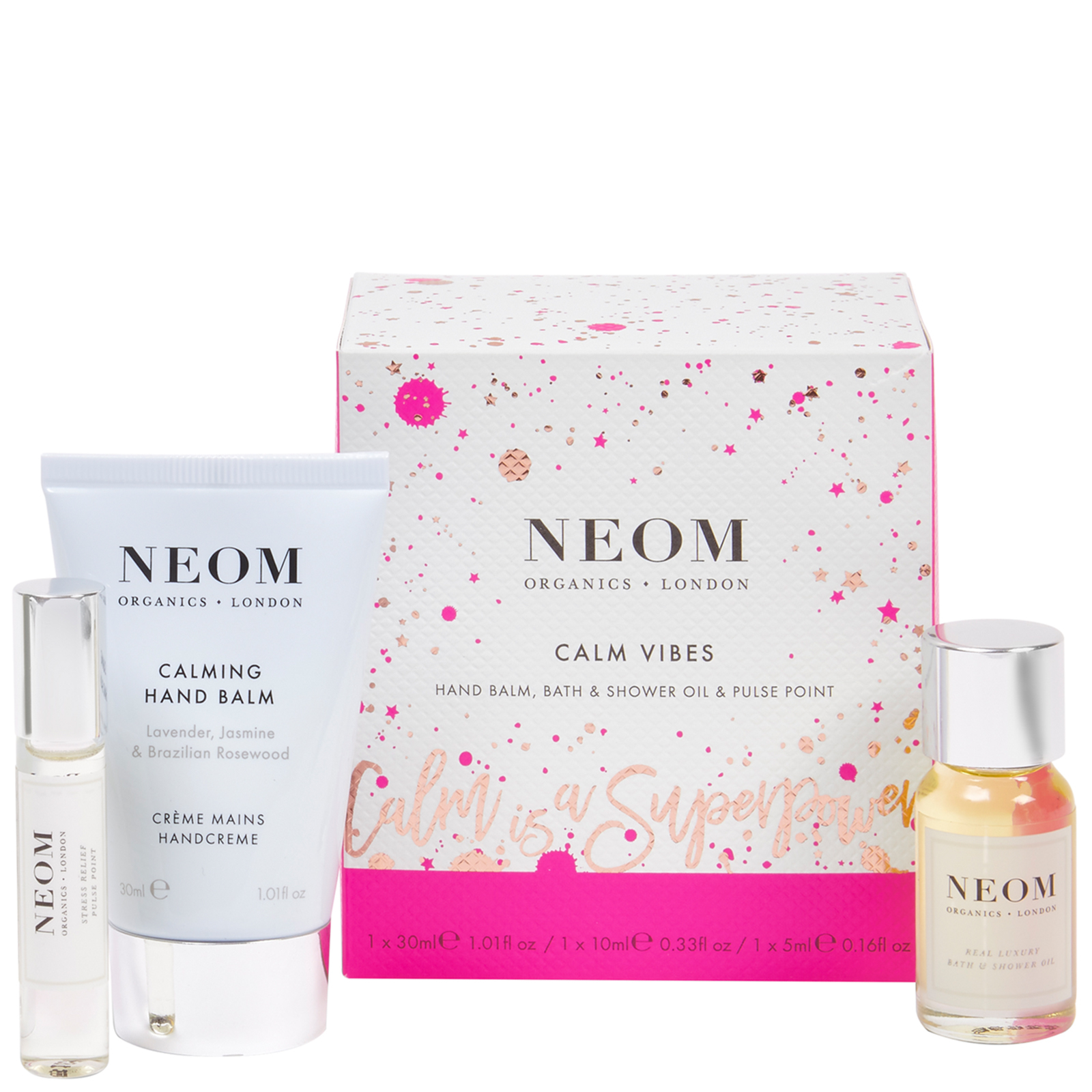 Neom Organics London Christmas 2020 Calm Vibes Gift Set