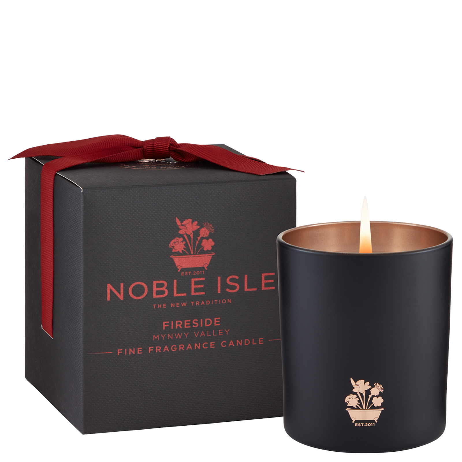 Noble Isle Home Fragrance Fireside Fine Fragrance Candle 200g