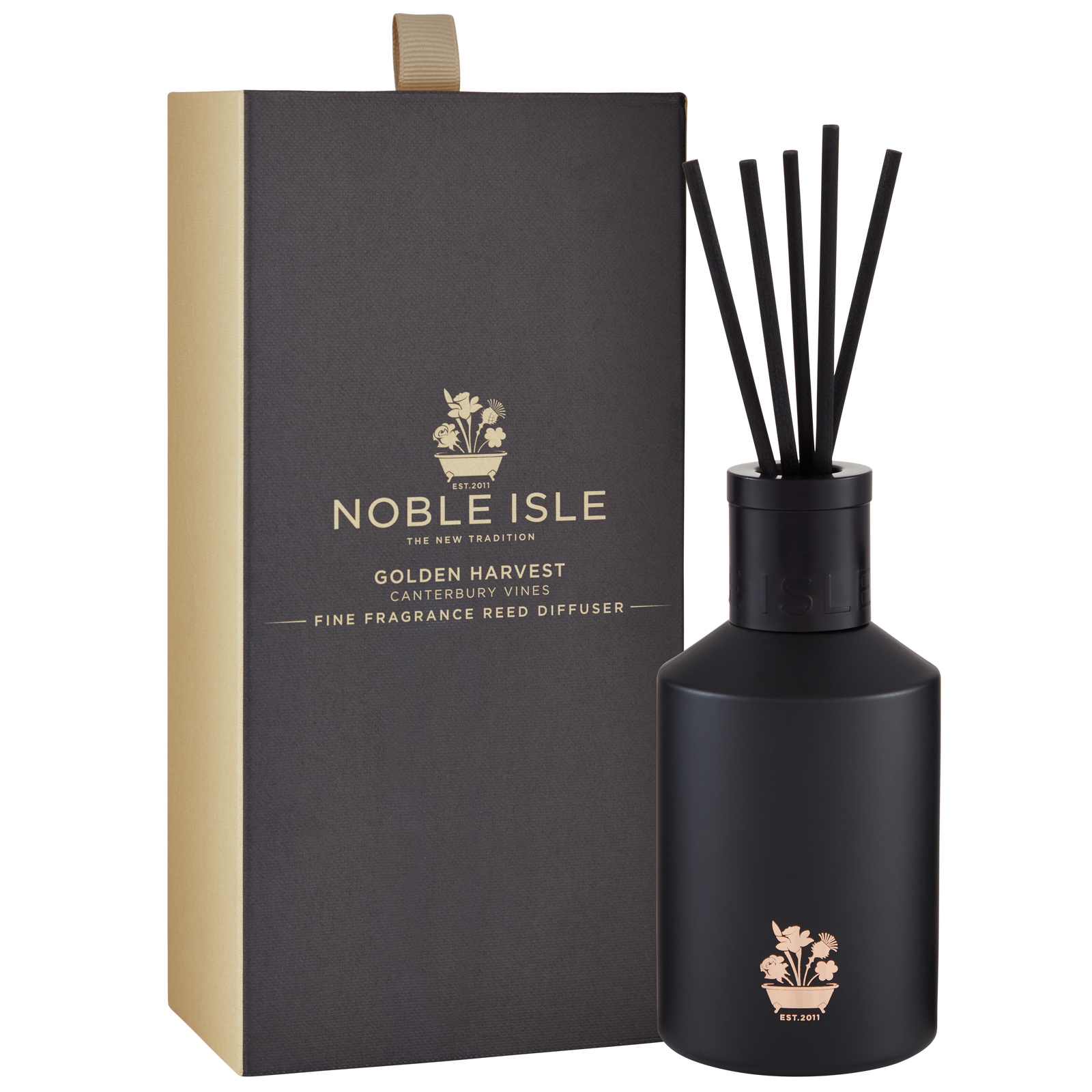 Noble Isle Home Fragrance Golden Harvest Scented Reed Diffuser 180ml