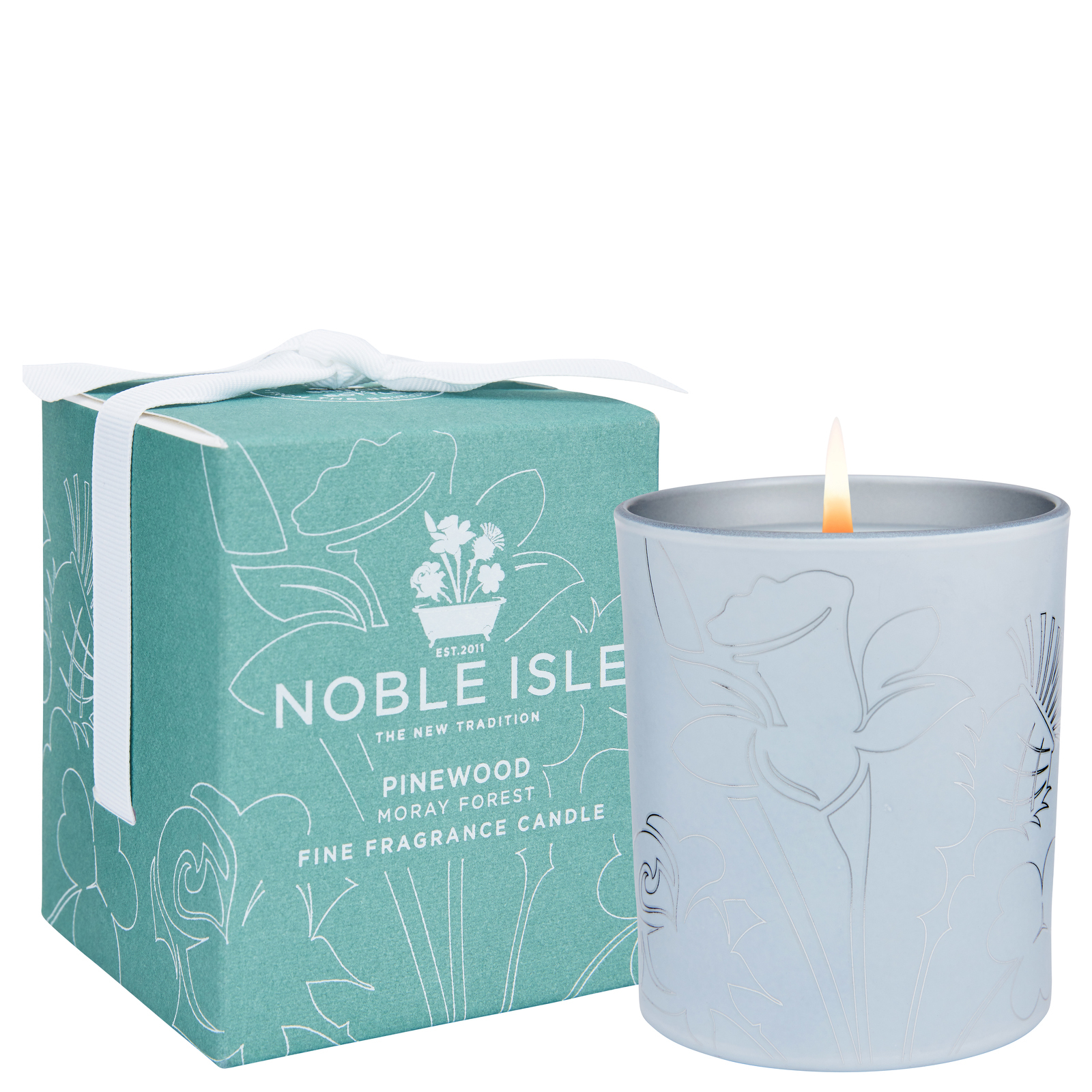 Noble Isle Home Fragrance Pinewood Fine Fragrance Candle 200g / 7.05oz.