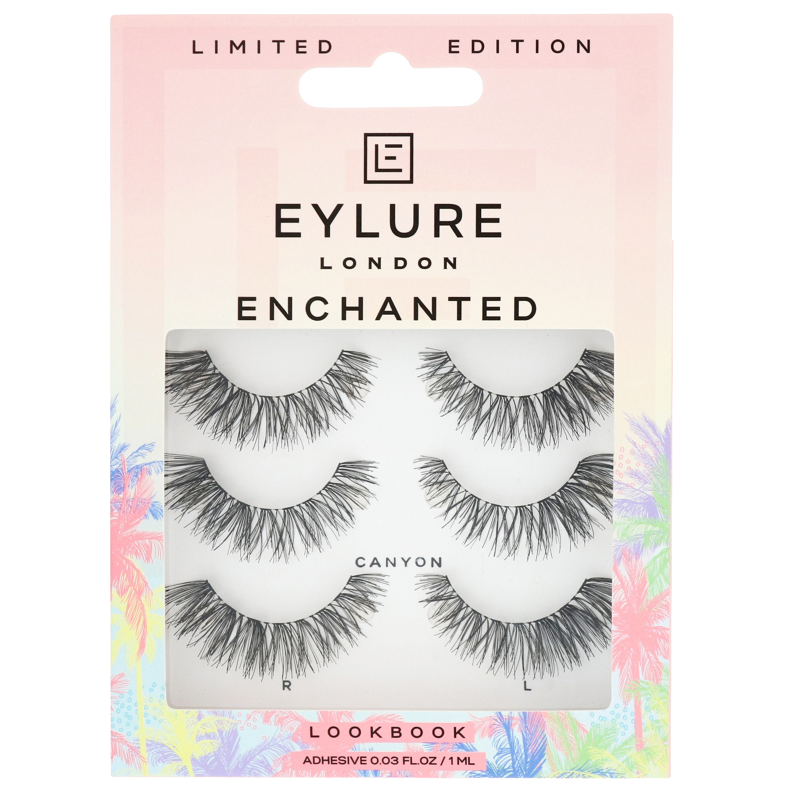 Eylure Multi Pack Lashes Enchanted Canyon