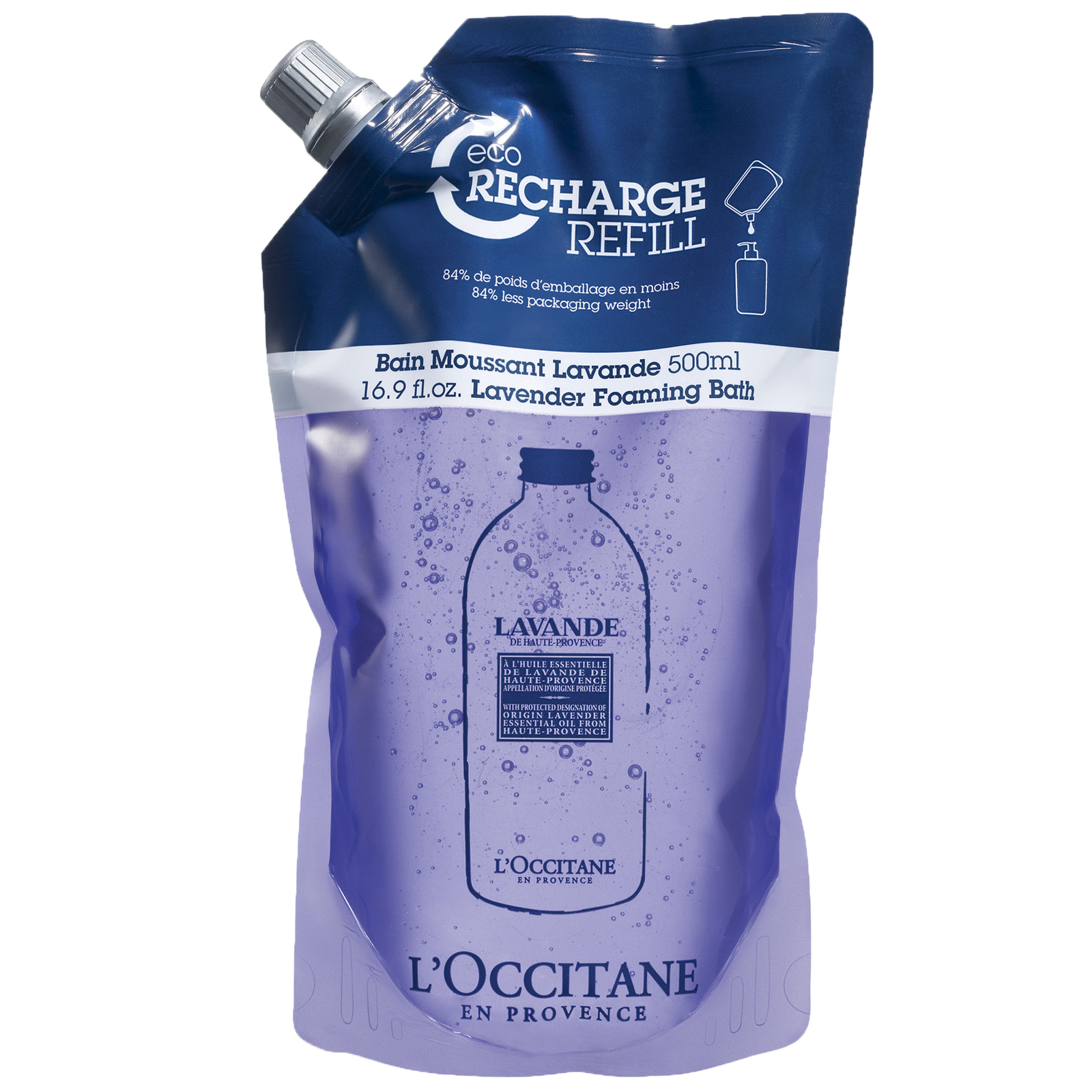 L'Occitane Lavender Foaming Bath Eco Refill 500ml