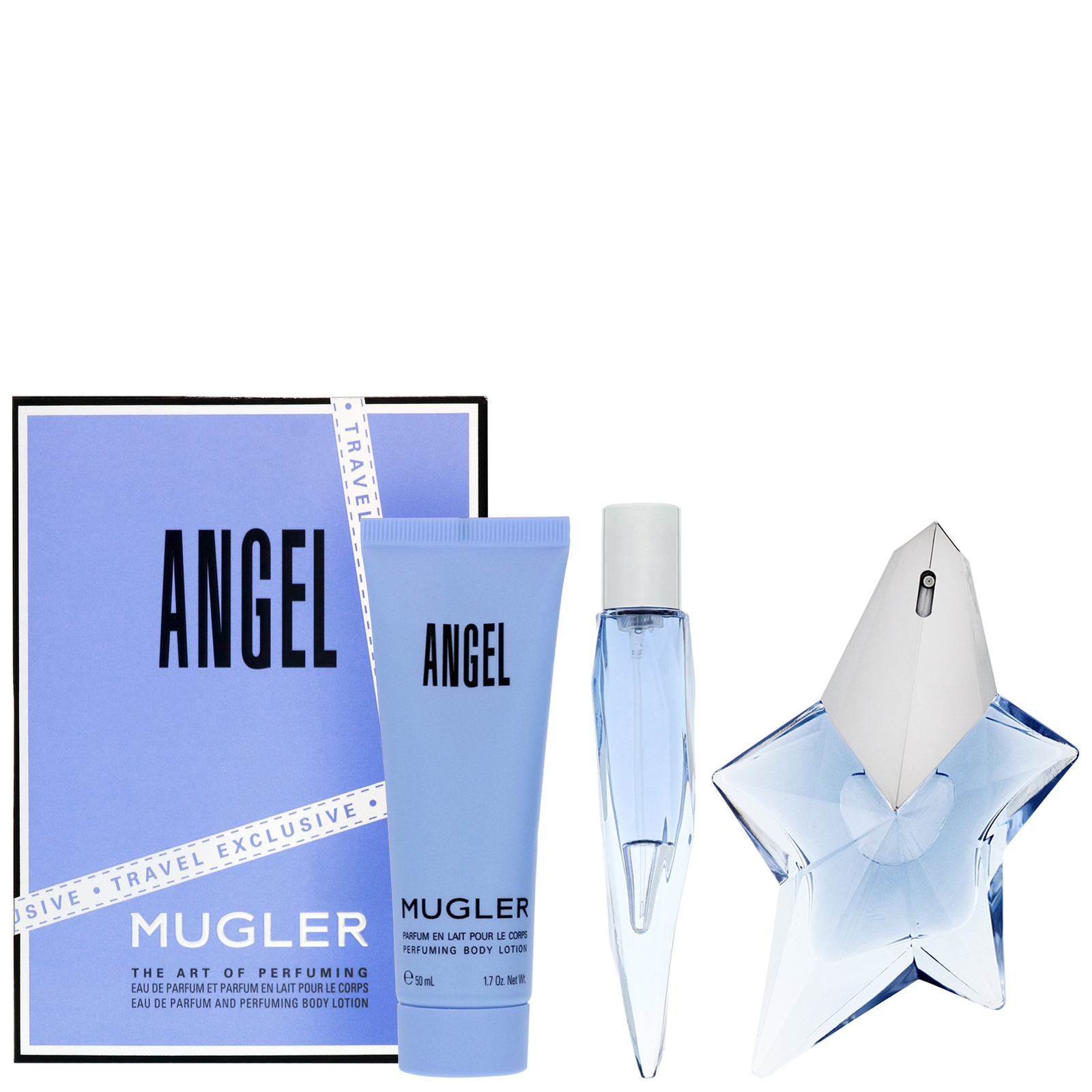 MUGLER Angel Eau de Parfum Spray 50ml Gift Set