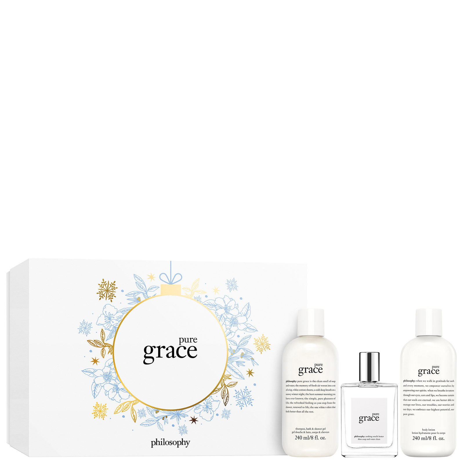 philosophy Christmas 2020 Pure Grace Gift Set