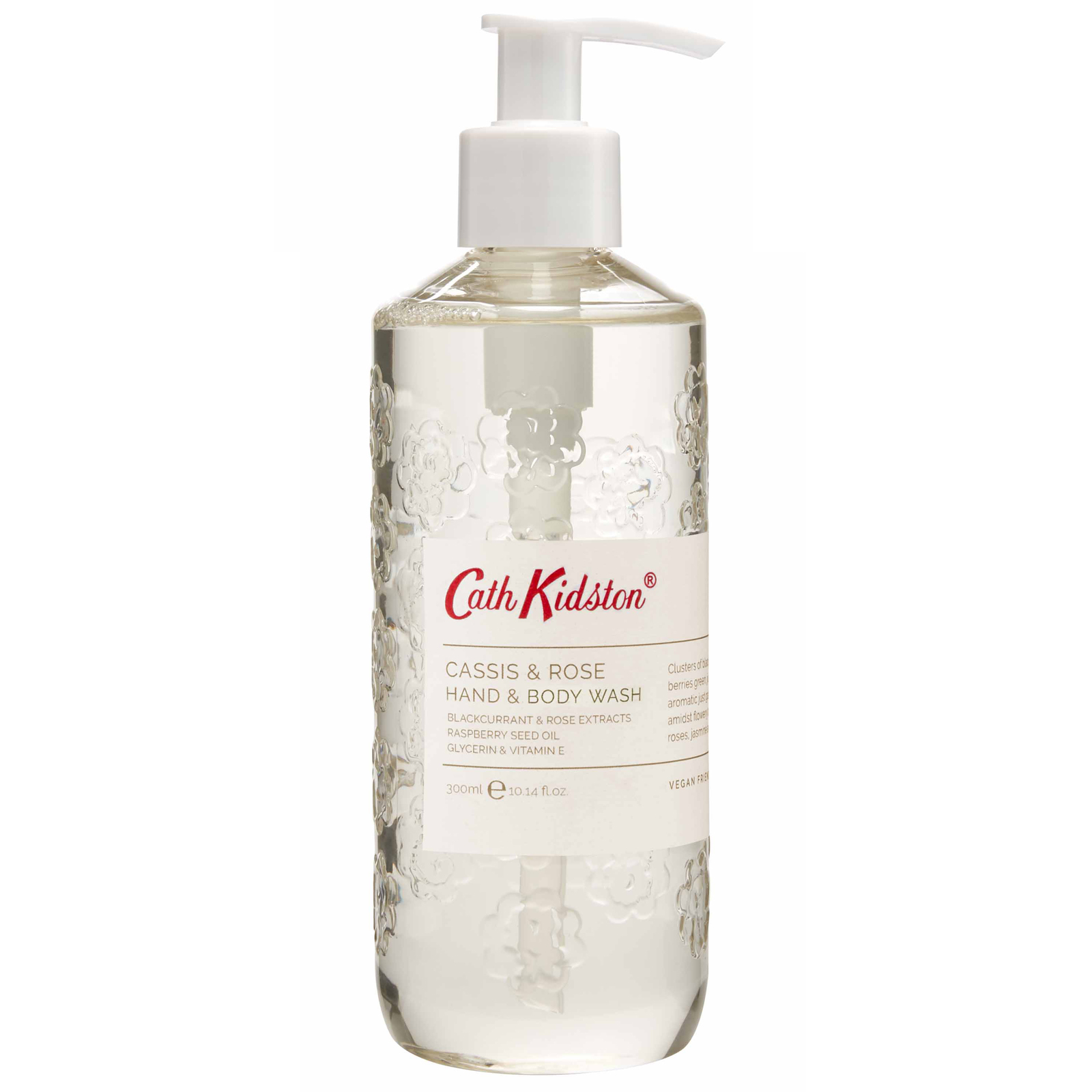 Cath Kidston Christmas 2020 Cassis & Rose Hand & Body Wash 300ml