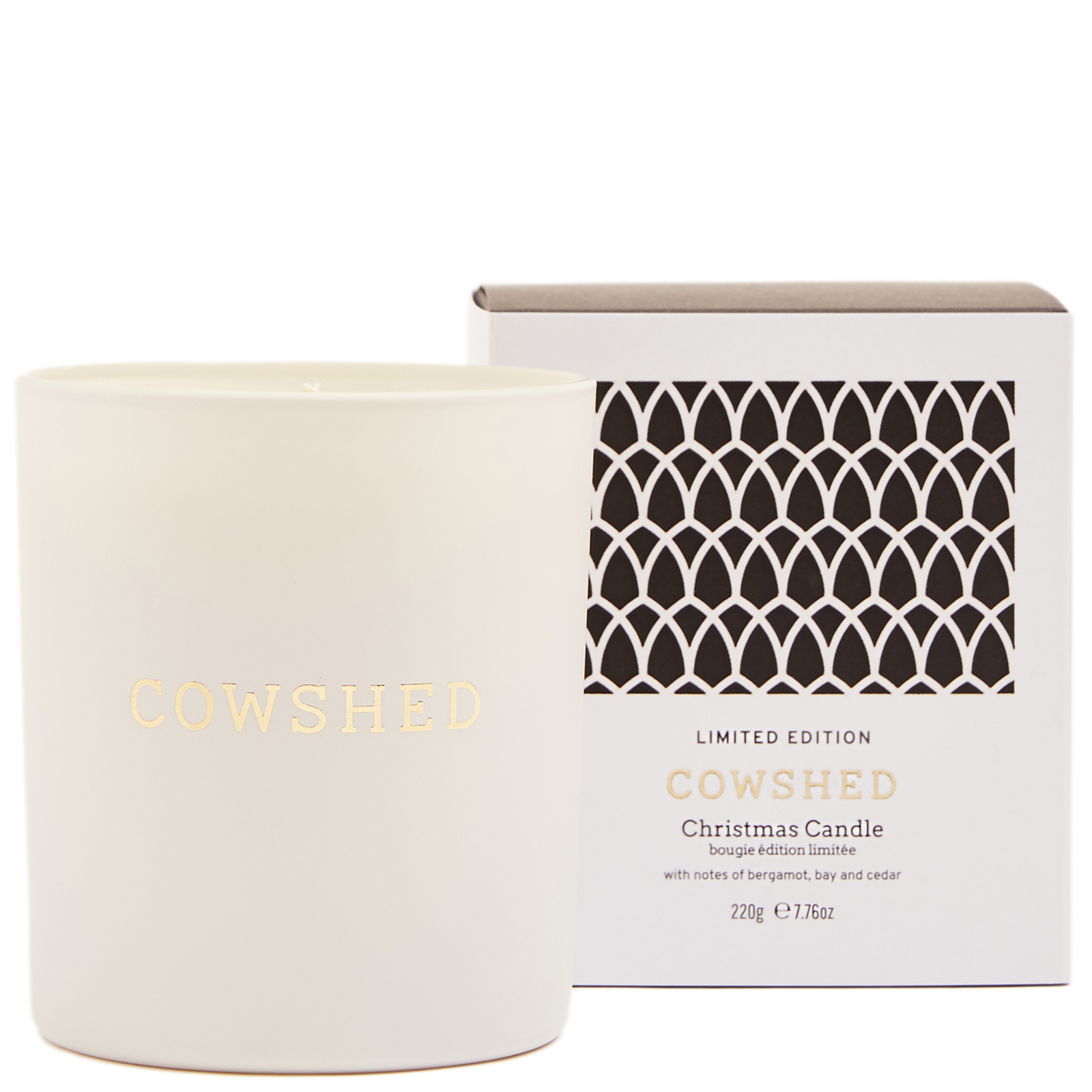Cowshed Christmas 2020 Limited Edition Christmas Candle 220g