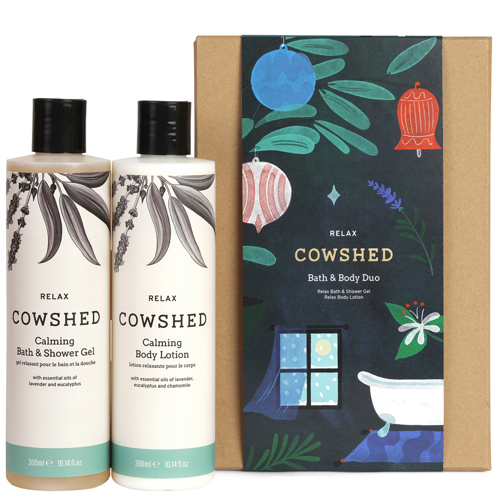 Cowshed Christmas 2020 Relax Bath & Body Duo