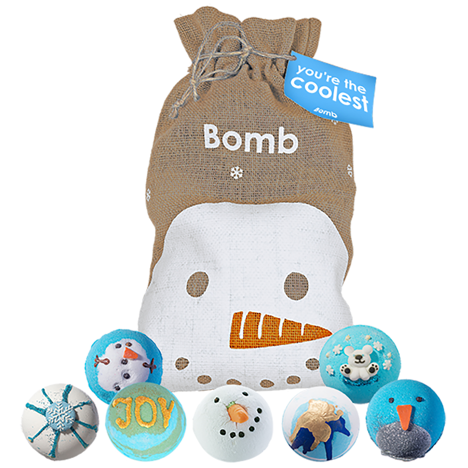 Bomb Cosmetics Christmas 2020 You're The Coolest Sack