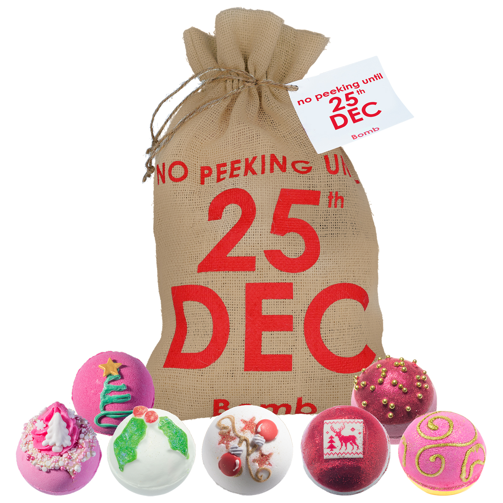 Bomb Cosmetics Christmas 2020 25th December Sack