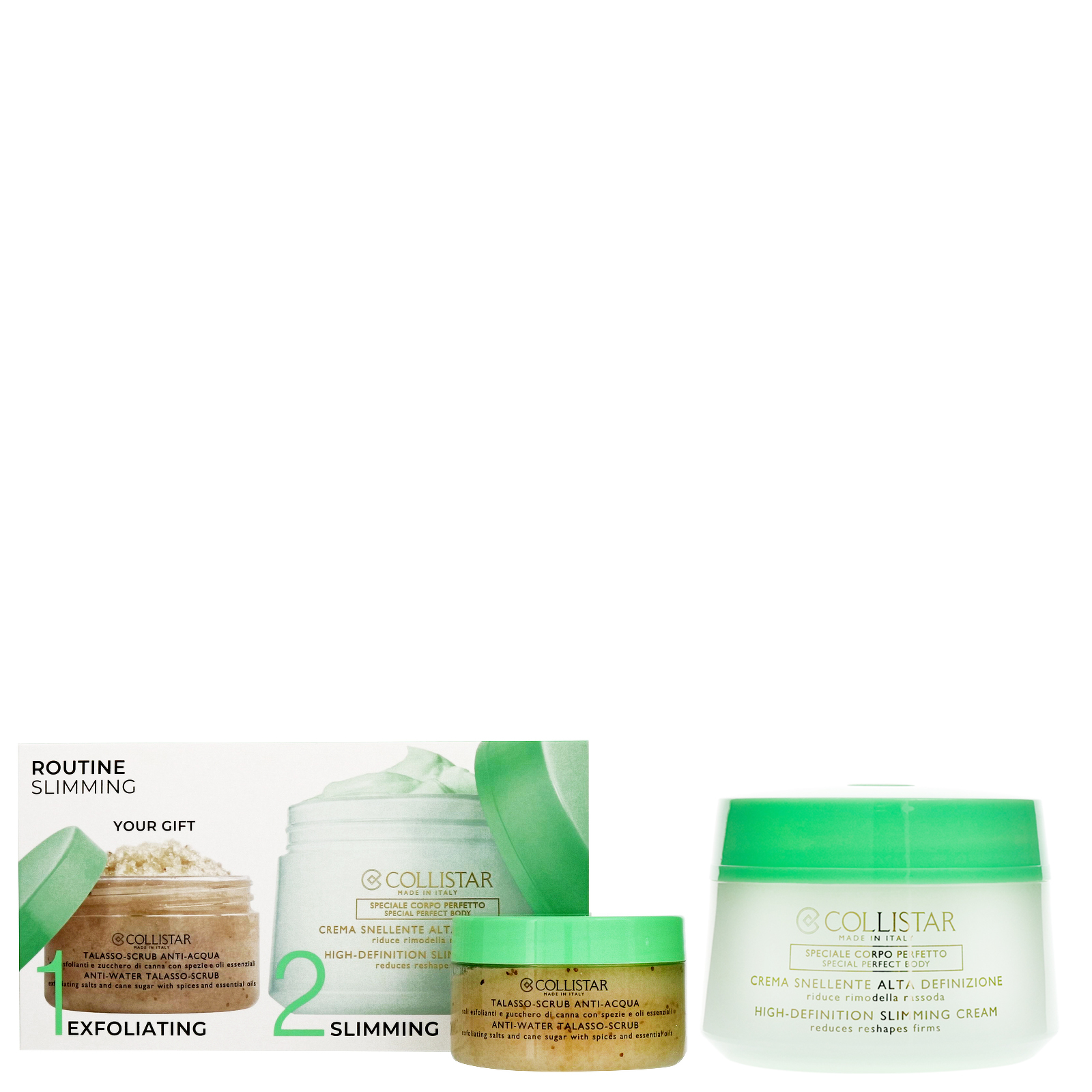 Collistar Gifts & Sets High-Definition Slimming Cream Kit