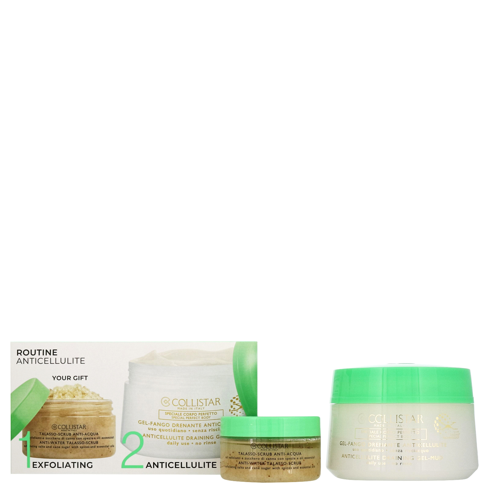 Collistar Gifts & Sets Anti-Cellulite Draining Gel-Mud Kit