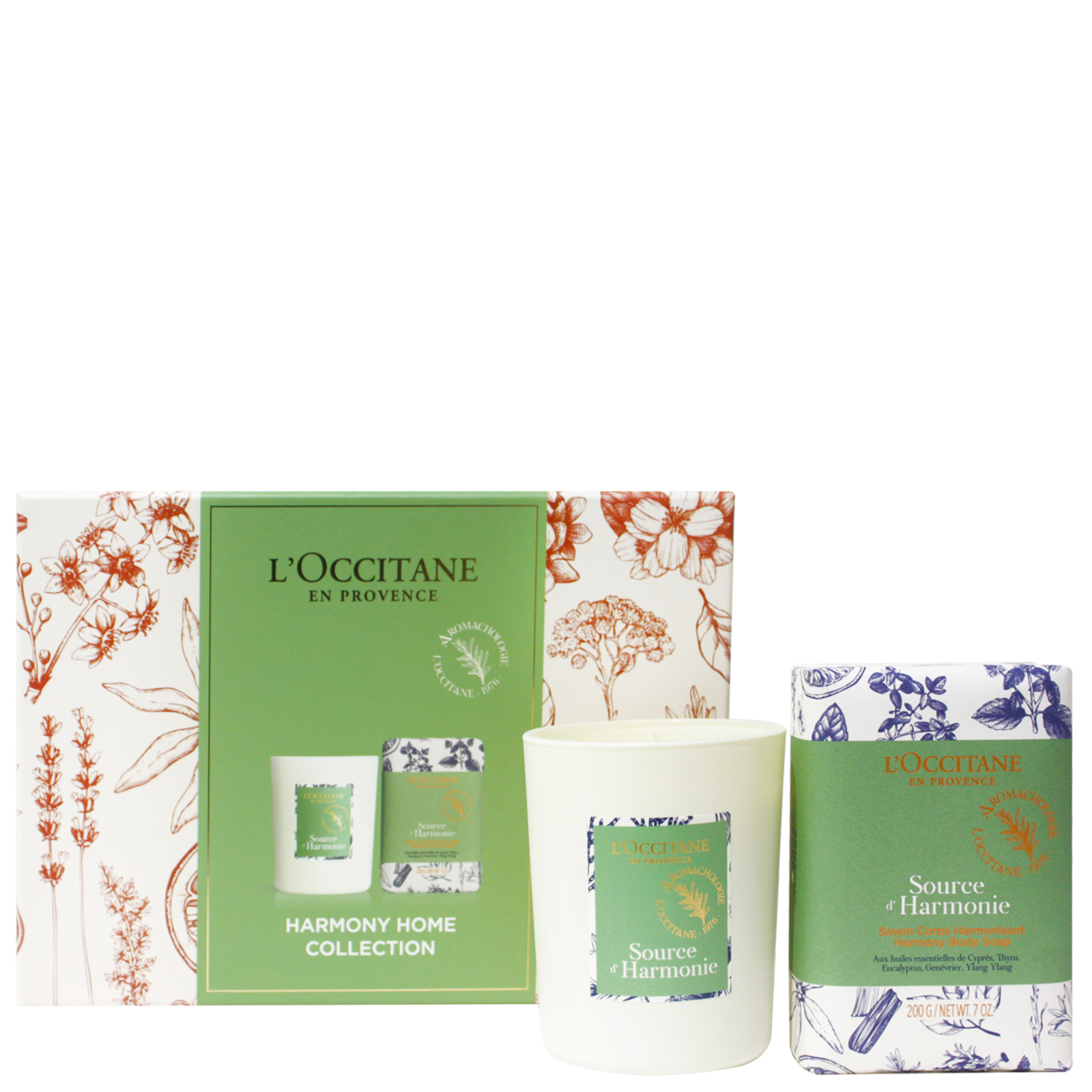 L'Occitane Gifts Harmony Home Duo
