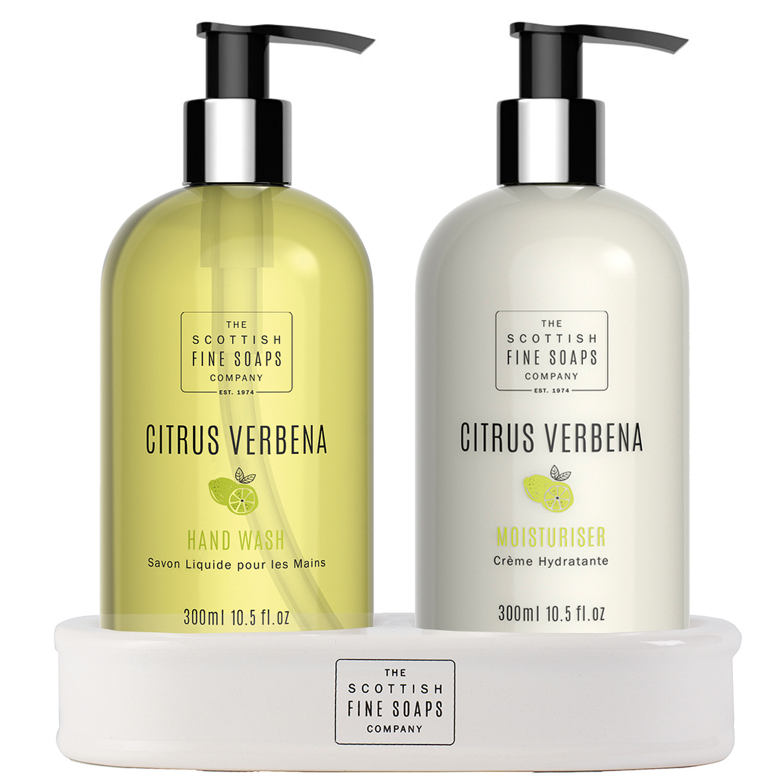 Scottish Fine Soaps Citrus Verbena Hand Care Set