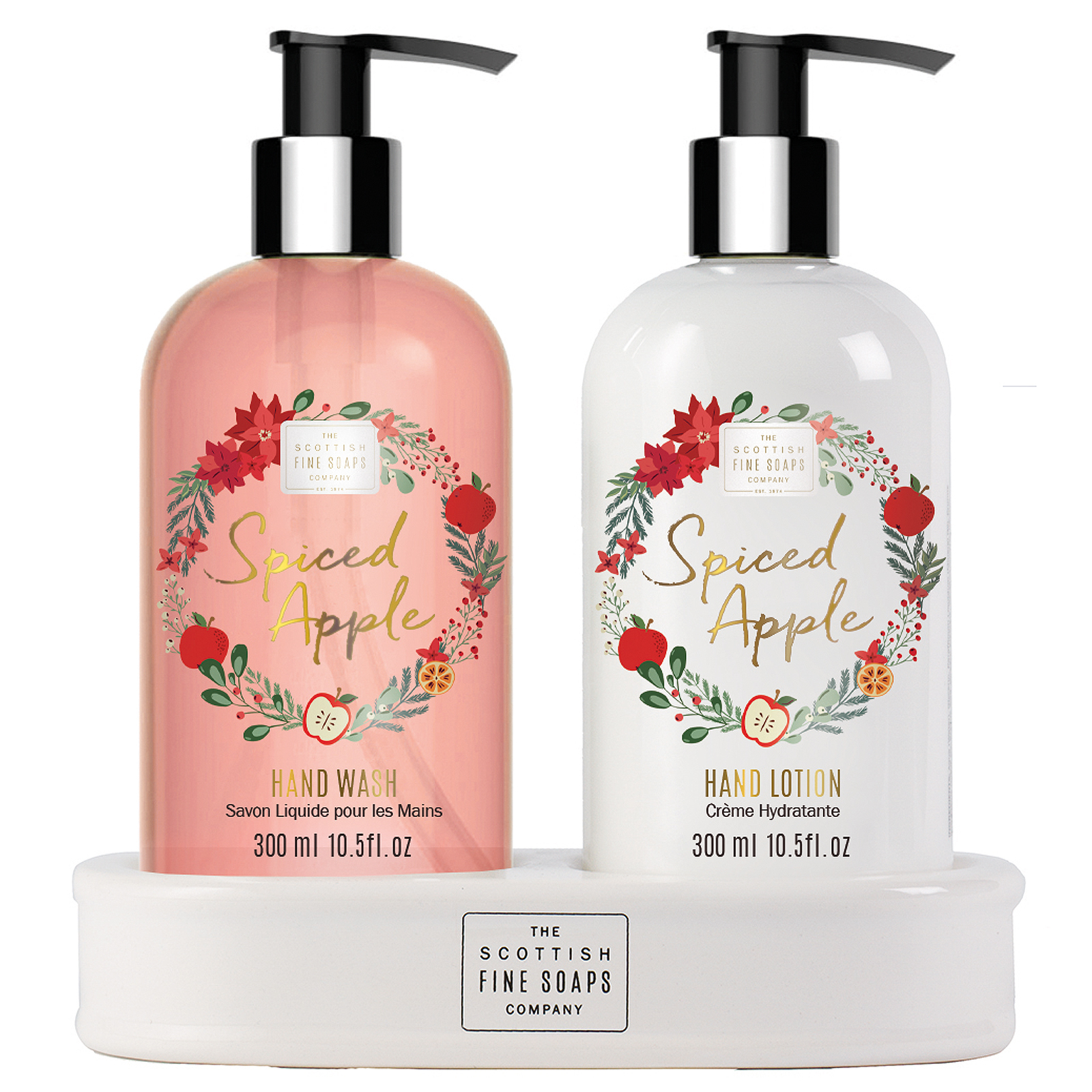 Apple Christmas 2020 Scottish Fine Soaps Christmas 2020 Spiced Apple Hand Care Set