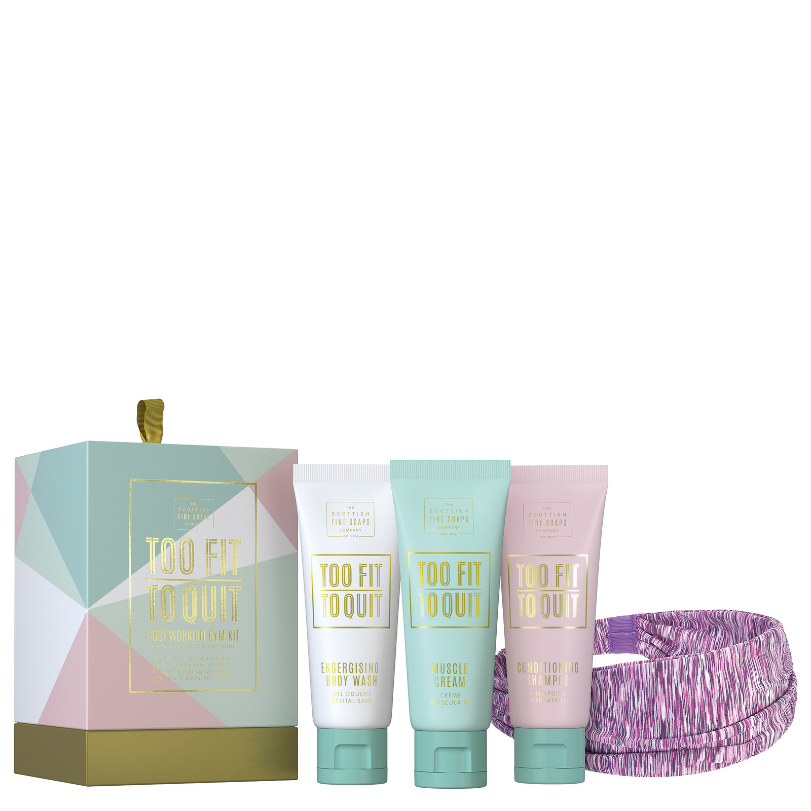 Scottish Fine Soaps Luxurious Gift Sets Too Fit to Quit