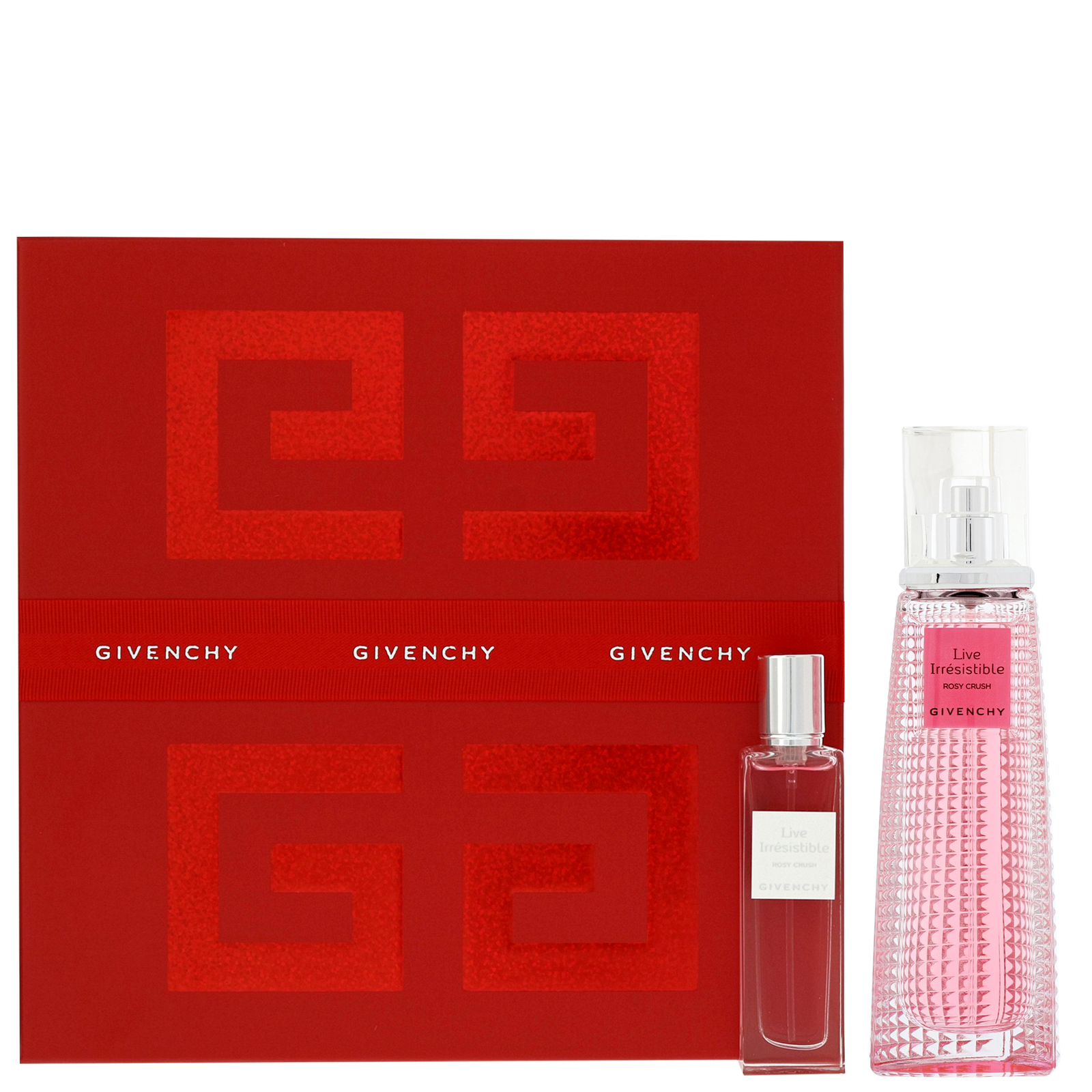 Givenchy Live Irrésistible Rosy Crush Eau de Parfum Spray 50ml Gift Set