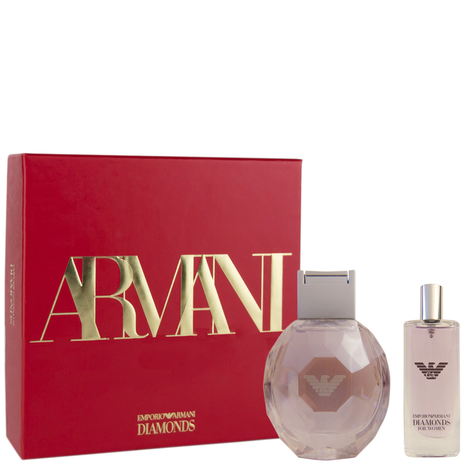 Armani Diamonds Violet Eau de Parfum Spray 50ml Gift Set