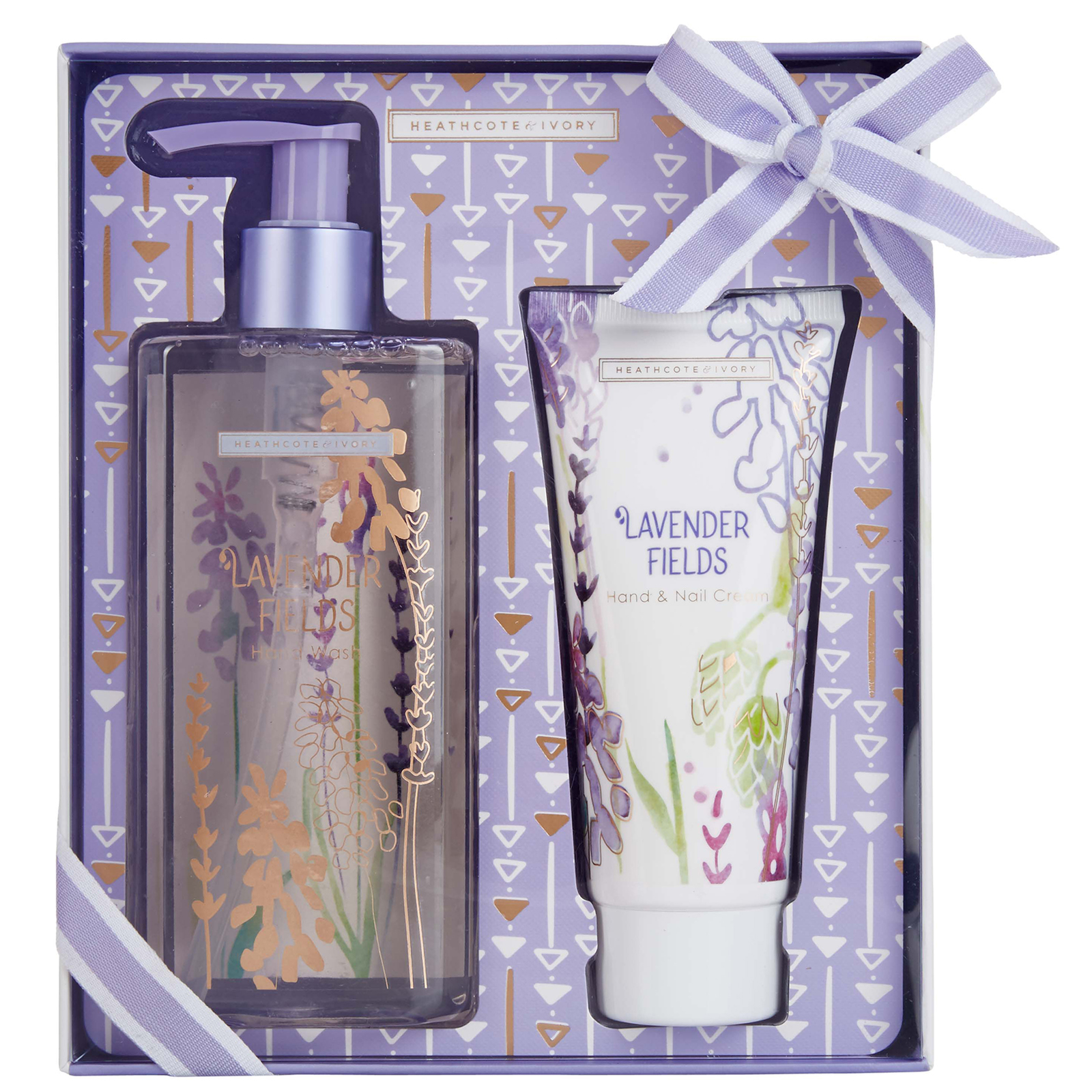 Heathcote & Ivory Lavender Fields Hand Wash and Hand Cream Set