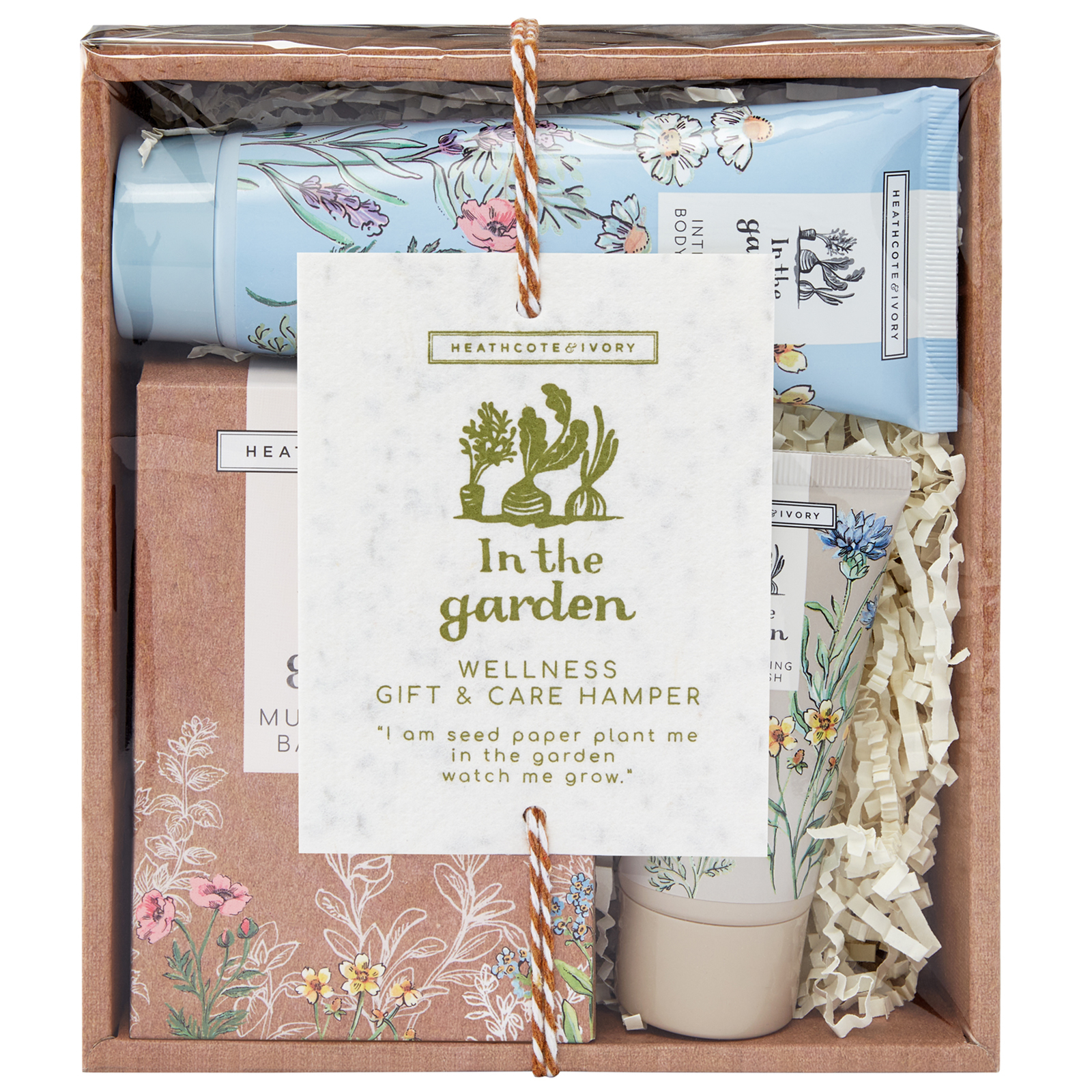 Heathcote & Ivory In The Garden Wellness Gift & Care Hamper