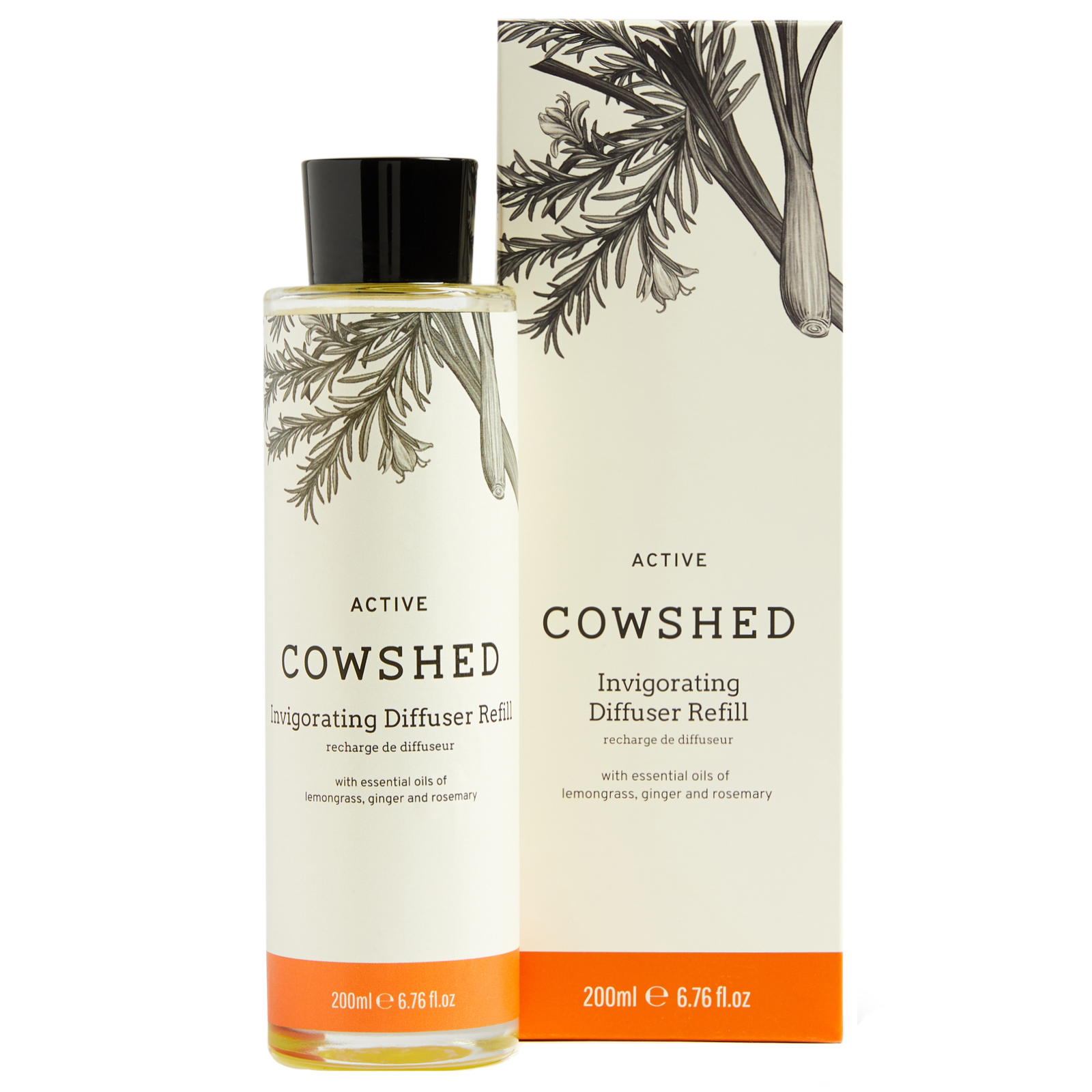 Cowshed At Home Active Diffuser Refill 200ml