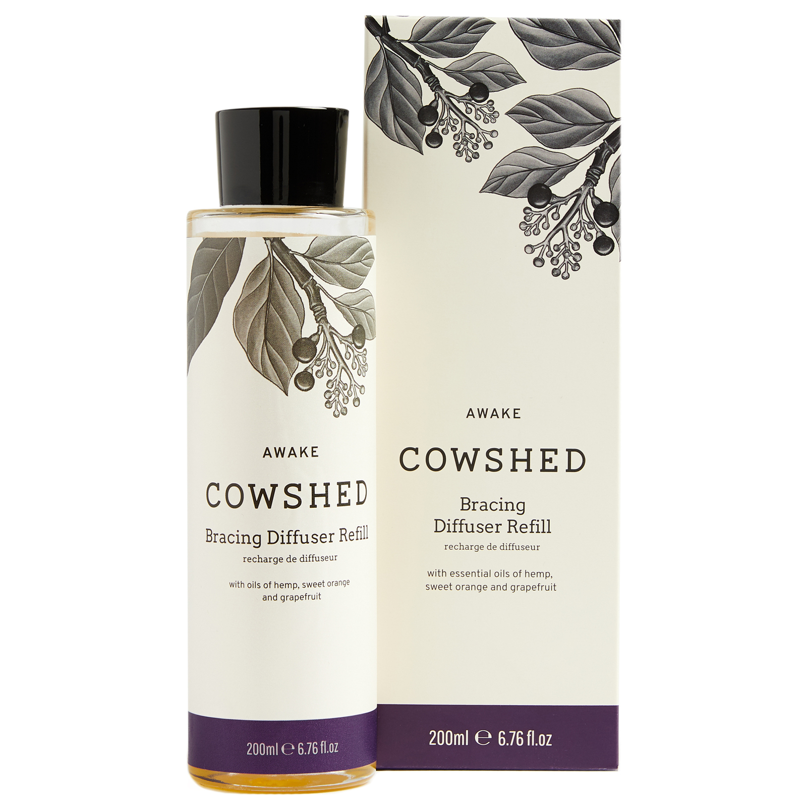 Cowshed At Home Awake Diffuser Refill 200ml