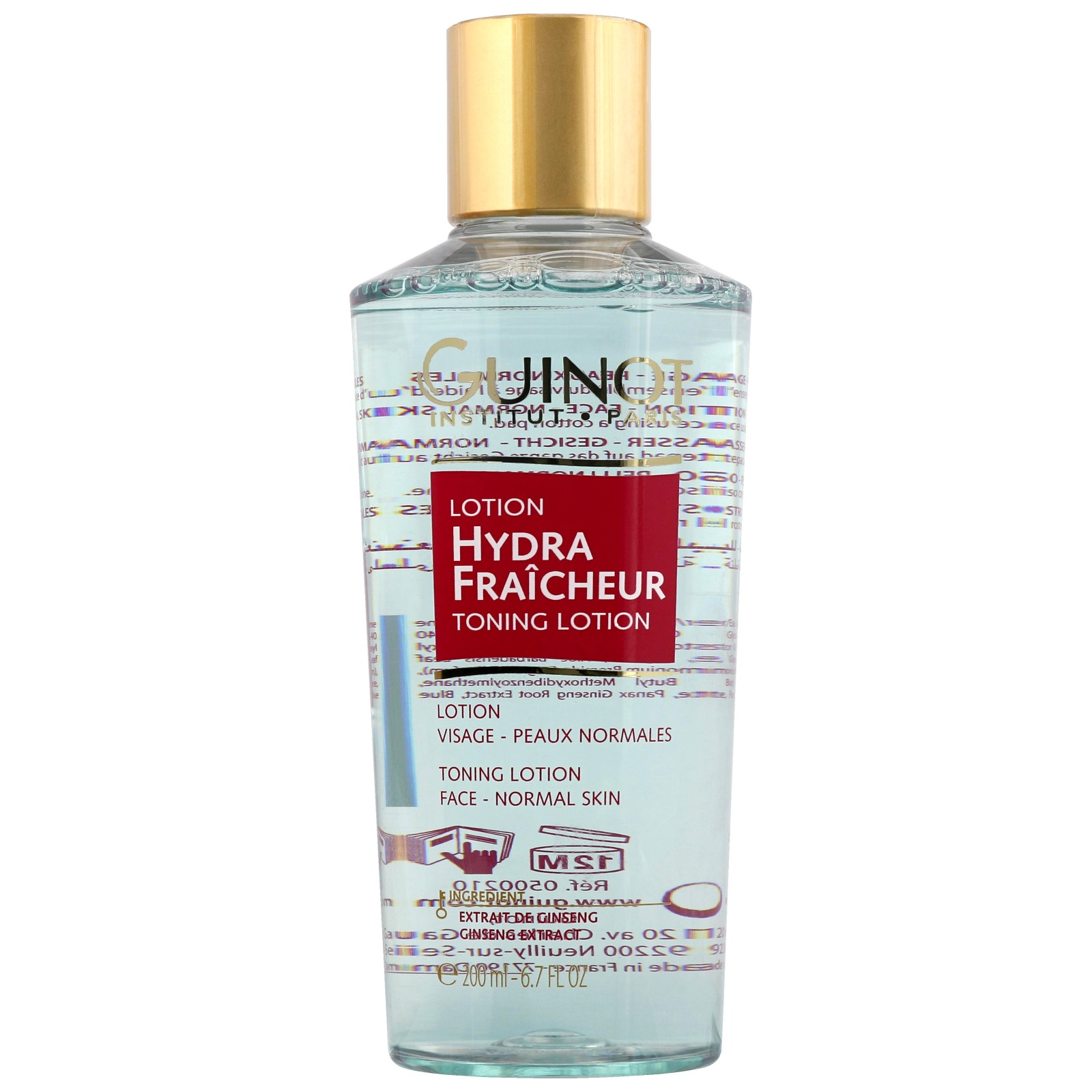 Guinot Make-Up Removal / Cleansing Lotion Hydra Fraicheur Refreshing Toning Lotion 200ml / 6.7 fl.oz.