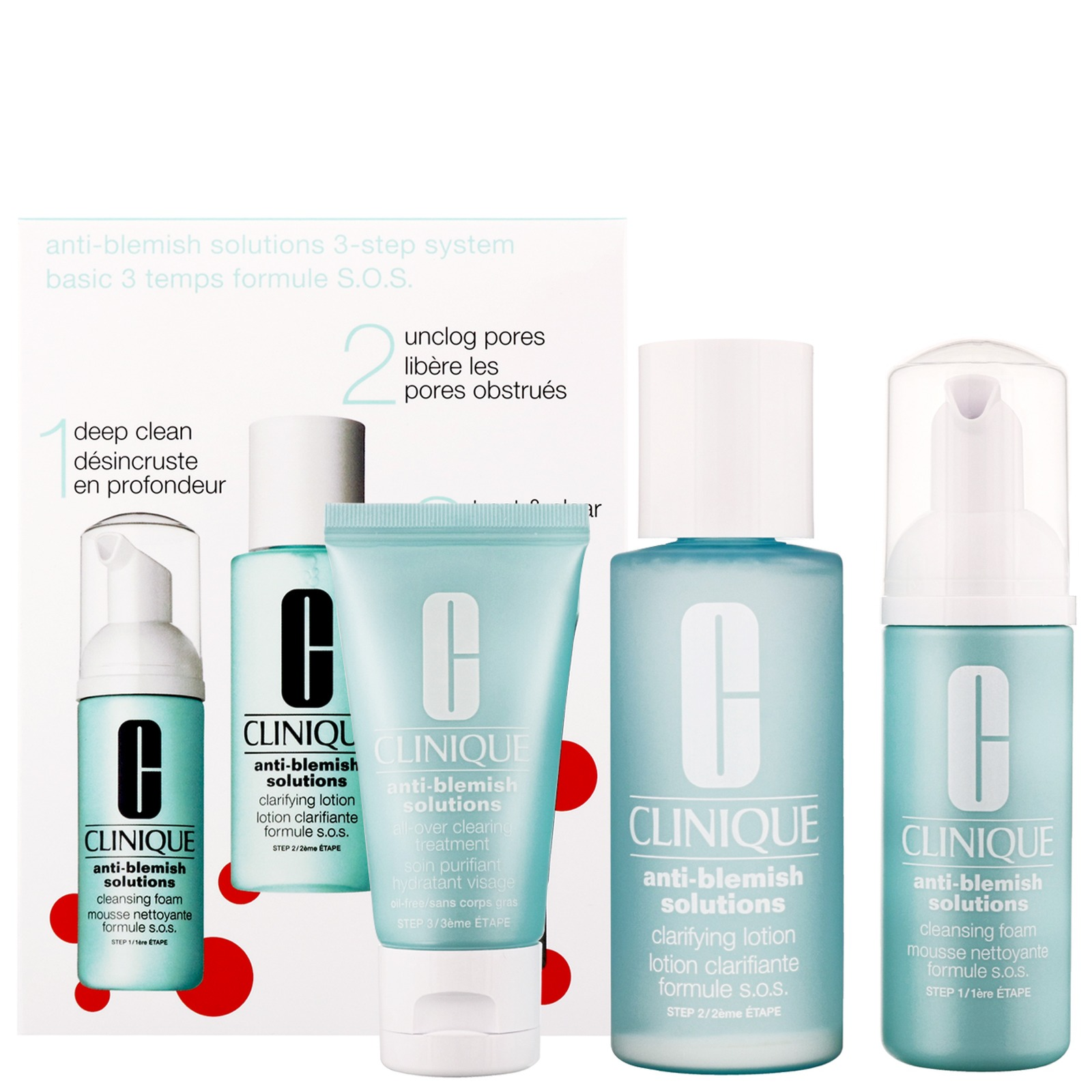 Clinique 3-Step Introduction Kit Anti-Blemish Solutions