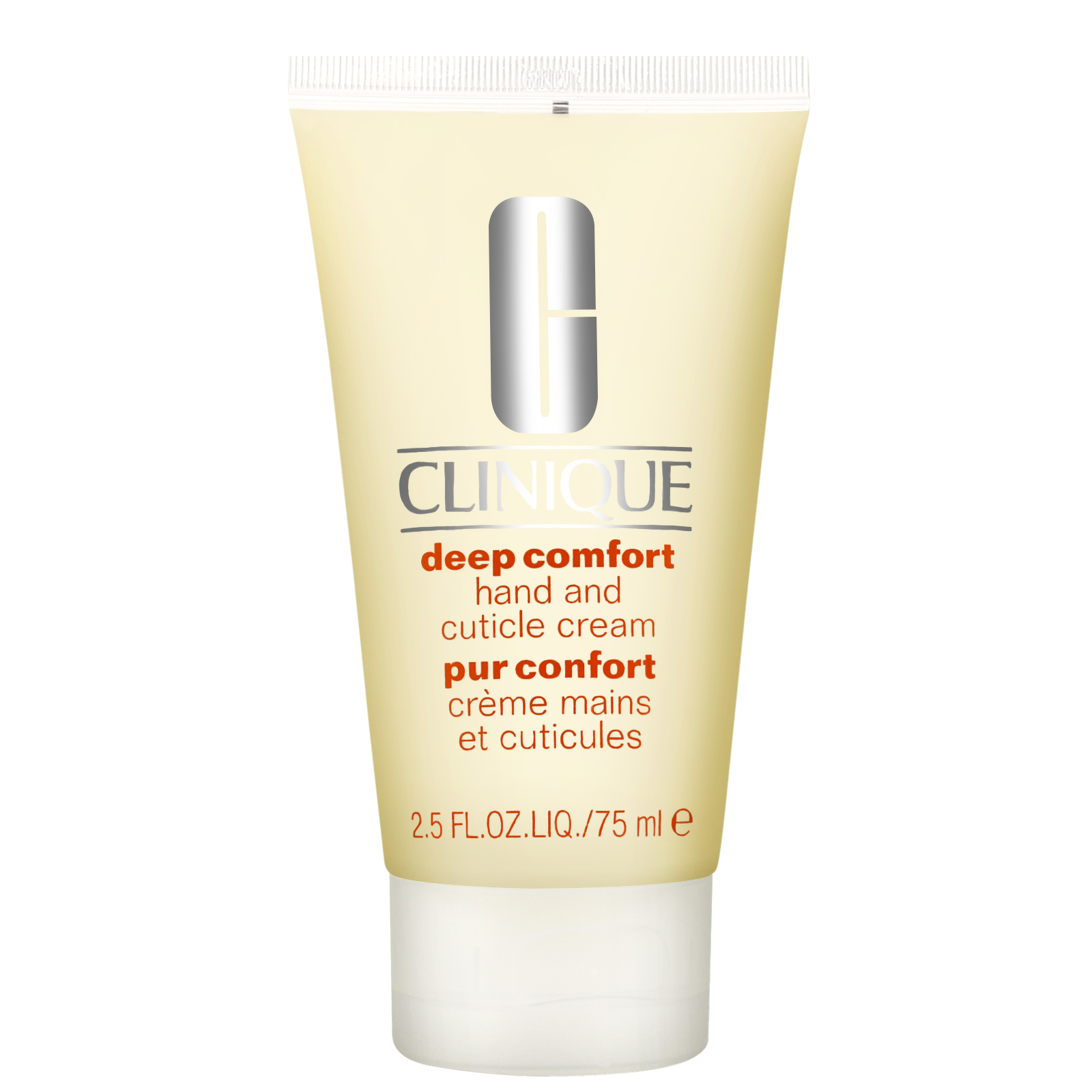 Clinique Hand & Body Care Deep Comfort Hand and Cuticle Cream 75ml / 2.5 fl.oz.