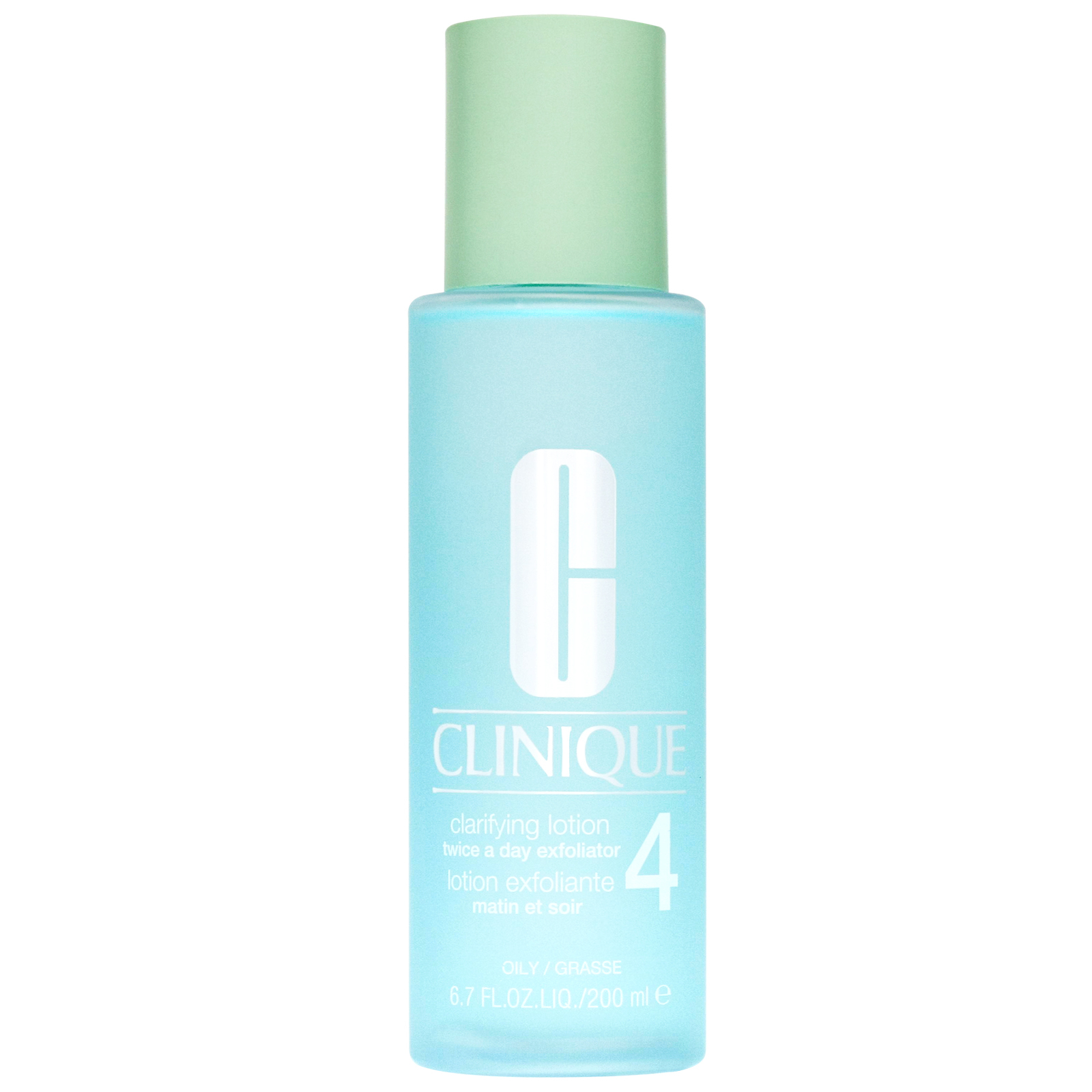 Clinique Cleansers & Makeup Removers Clarifying Lotion Twice A Day Exfoliator 4 for Oily Skin 200ml / 6.7 fl.oz.