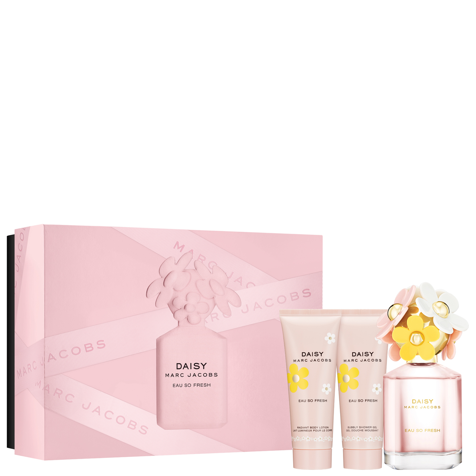 Marc Jacobs Daisy Eau So Fresh Eau de Toilette Spray 75ml Gift Set