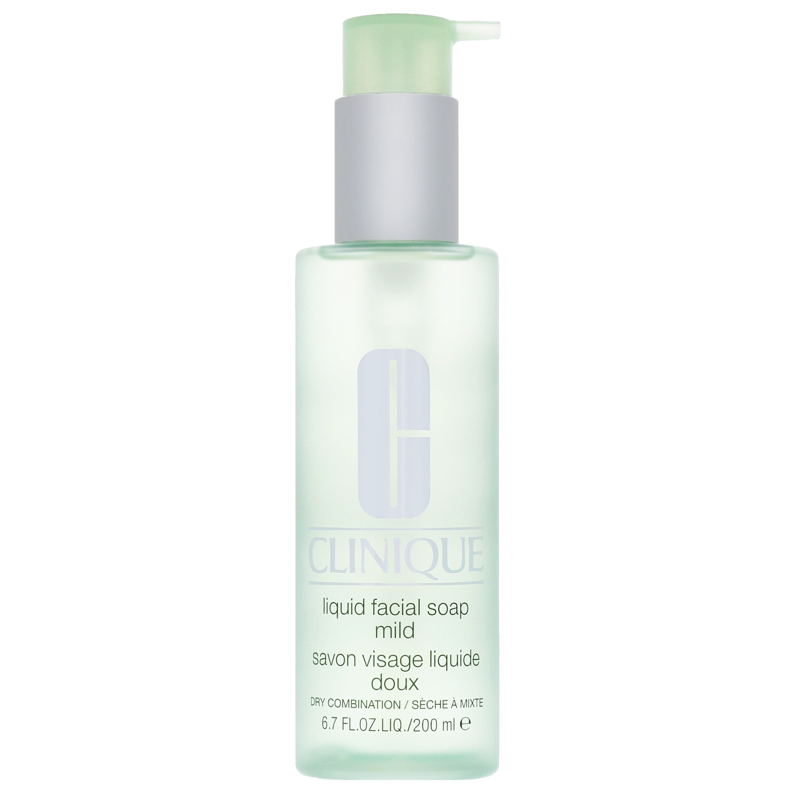 Clinique Cleansers & Makeup Removers Liquid Facial Soap Mild for Dry / Combination Skin 200ml / 6.7 fl.oz.