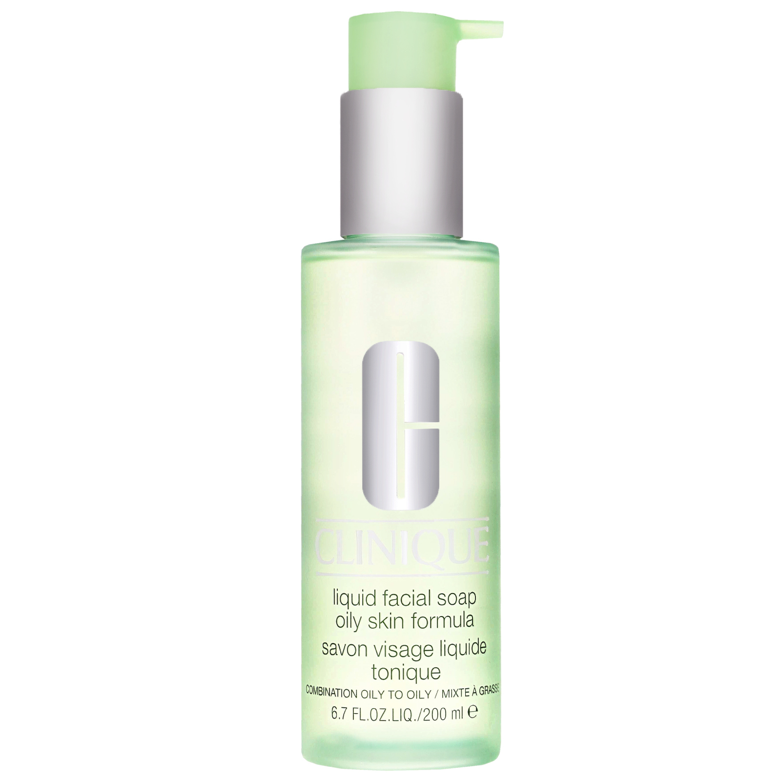 Clinique Cleansers & Makeup Removers Liquid Facial Soap Oily Skin Formula for Oily / Combination Skin 200ml / 6.7 fl.oz.
