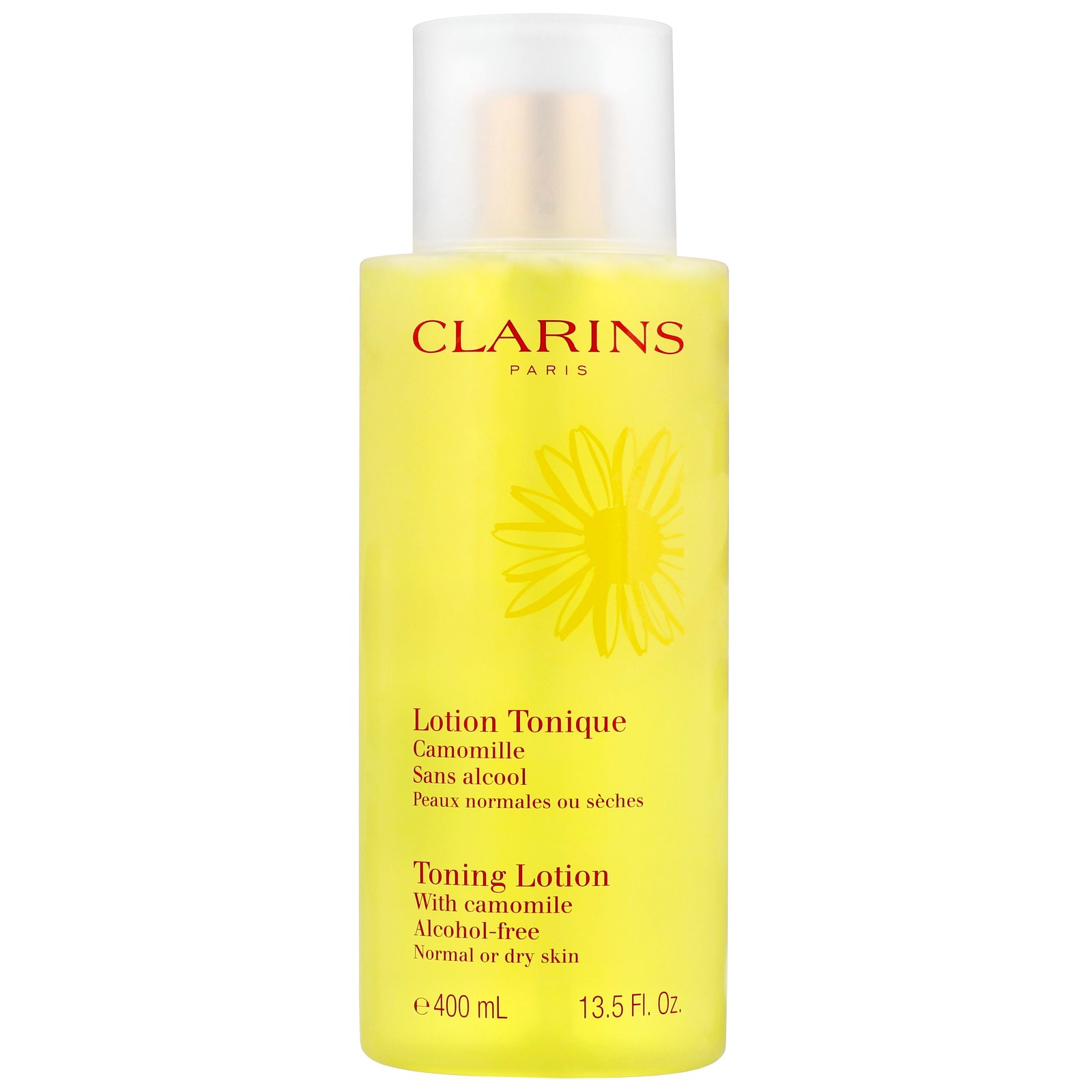 Clarins Cleansers & Toners Toning Lotion With Camomile Alcohol-Free Normal/Dry Skin 400ml / 13.5 fl.oz.