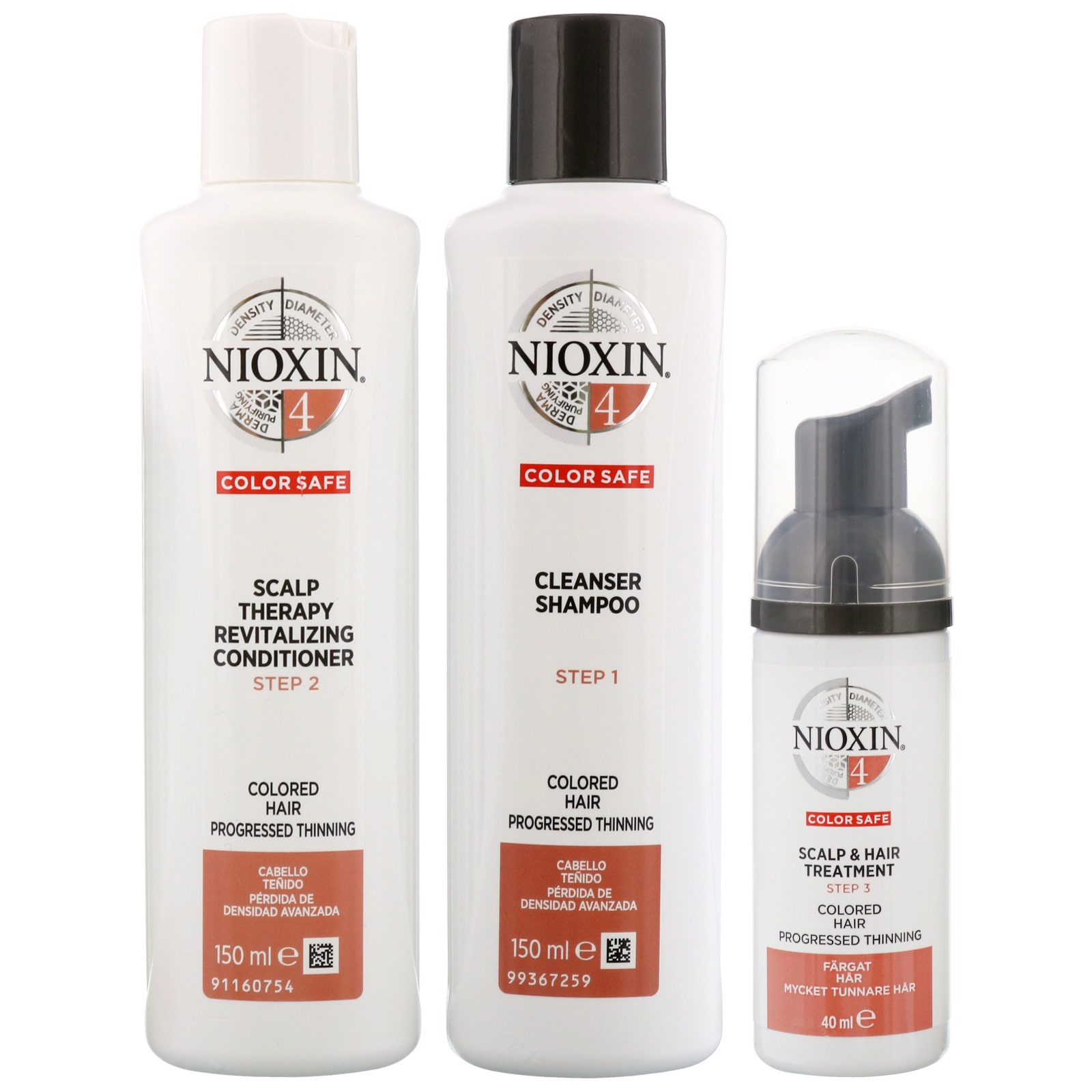 Nioxin 3d Care System System 4 3 Part System Kit For
