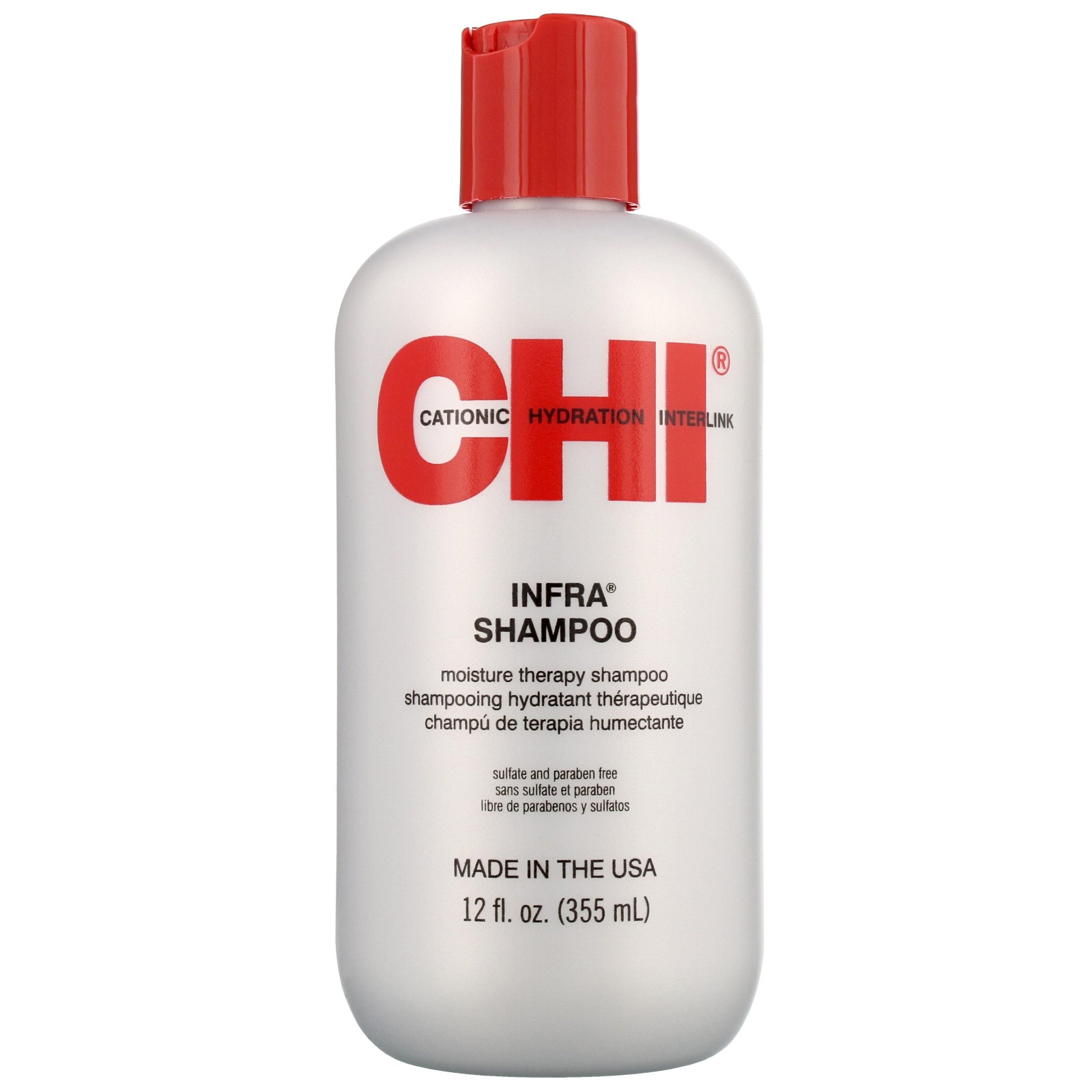 CHI Maintain. Repair. Protect. Infra Moisture Therapy Shampoo 355ml