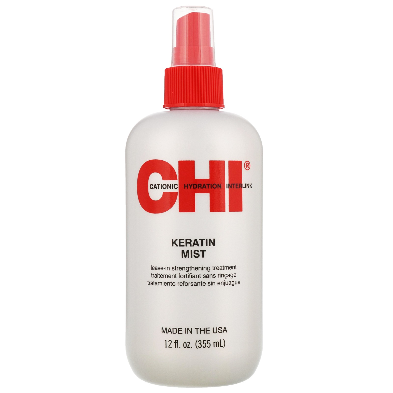 CHI Maintain. Repair. Protect. Keratin Mist Leave-In Strengthening Treatment 355ml