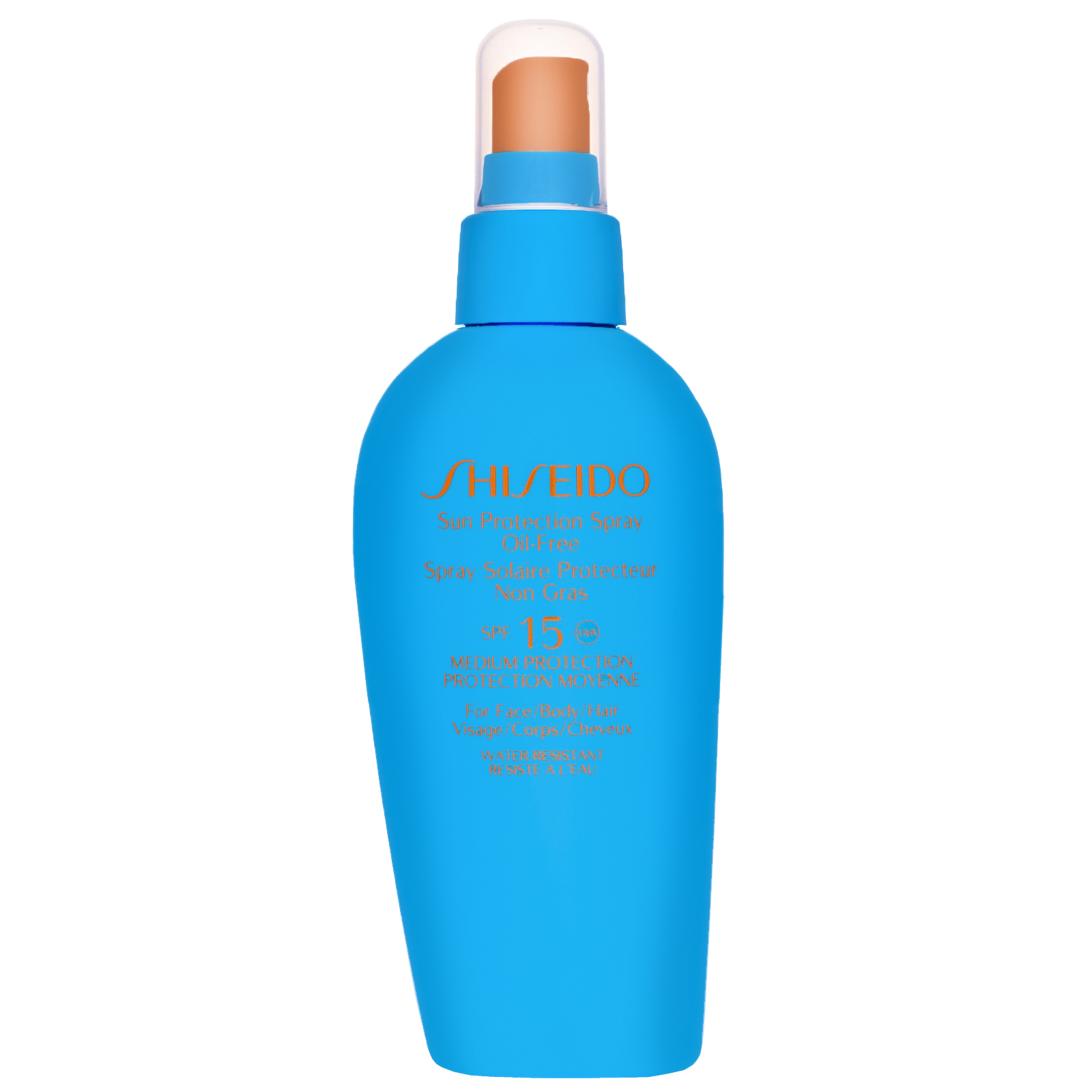 Shiseido Protection Sun Protection Spray Oil-Free SPF15 For Face & Body 150ml / 5 fl.oz.