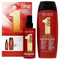 Revlon Professional Uniq One Classic Hair Treatment 150ml and Conditioning Hair and Scalp Shampoo 300ml