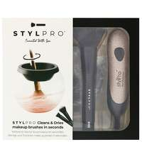 Click to view product details and reviews for Stylpro Stylpro Limited Edition Glitter Makeup Brush Cleaner And Dryer And Cleanser 150ml.